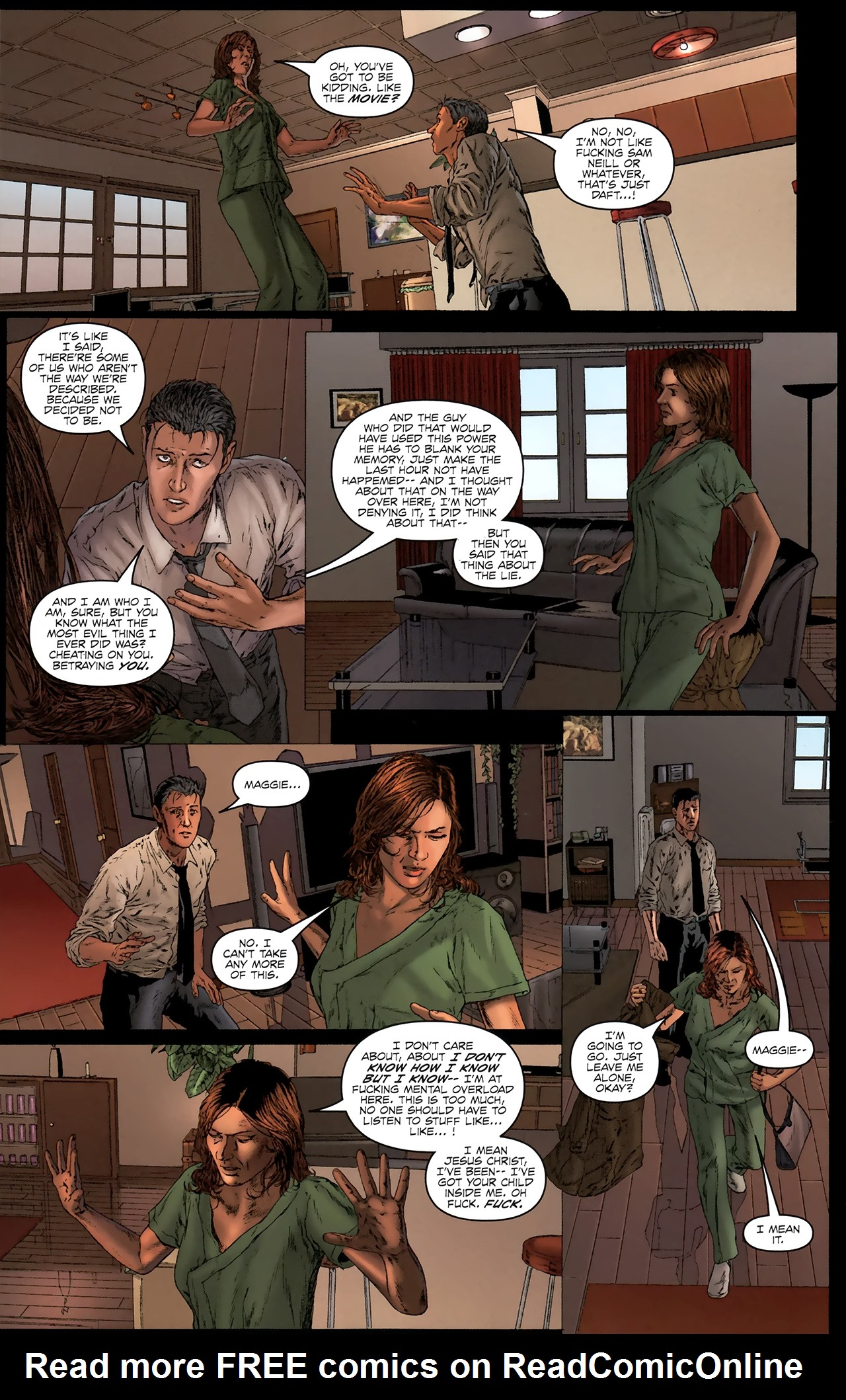 Read online Chronicles of Wormwood: The Last Battle comic -  Issue #3 - 22