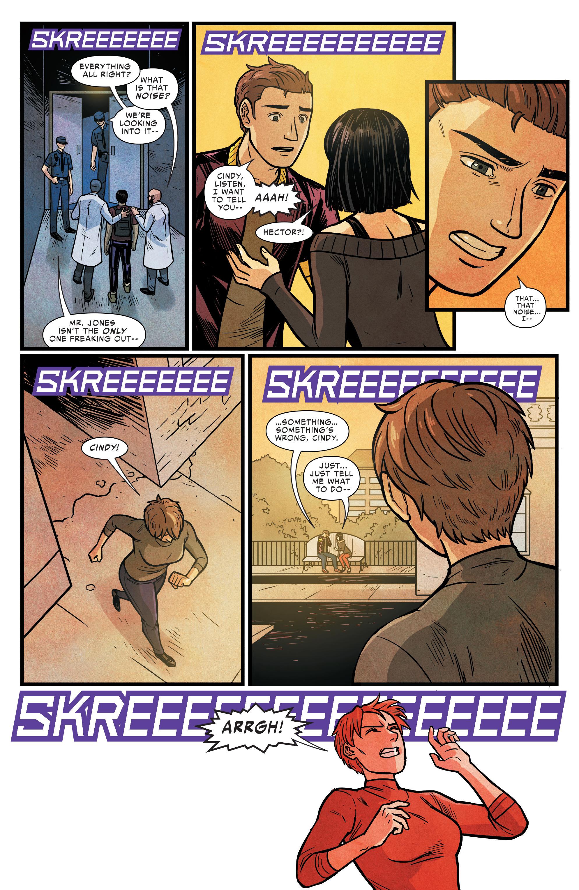 Read online Silk (2016) comic -  Issue #16 - 19