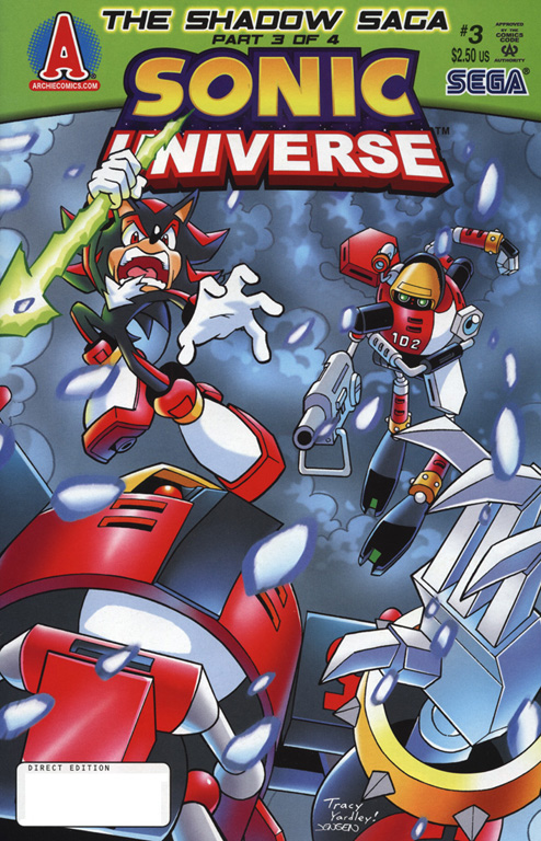 Read online Sonic Universe comic -  Issue #3 - 1