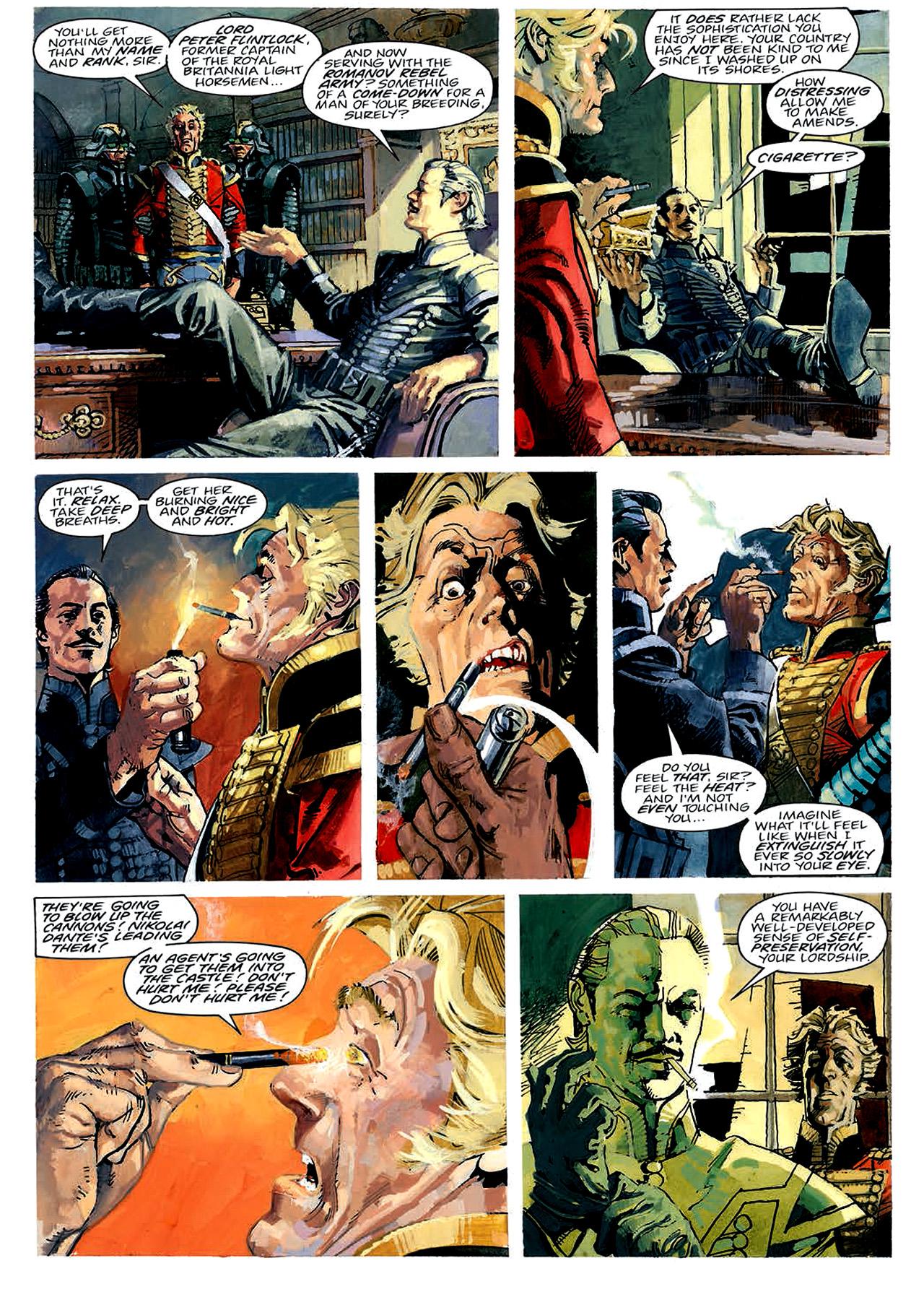 Read online Nikolai Dante comic -  Issue # TPB 4 - 31