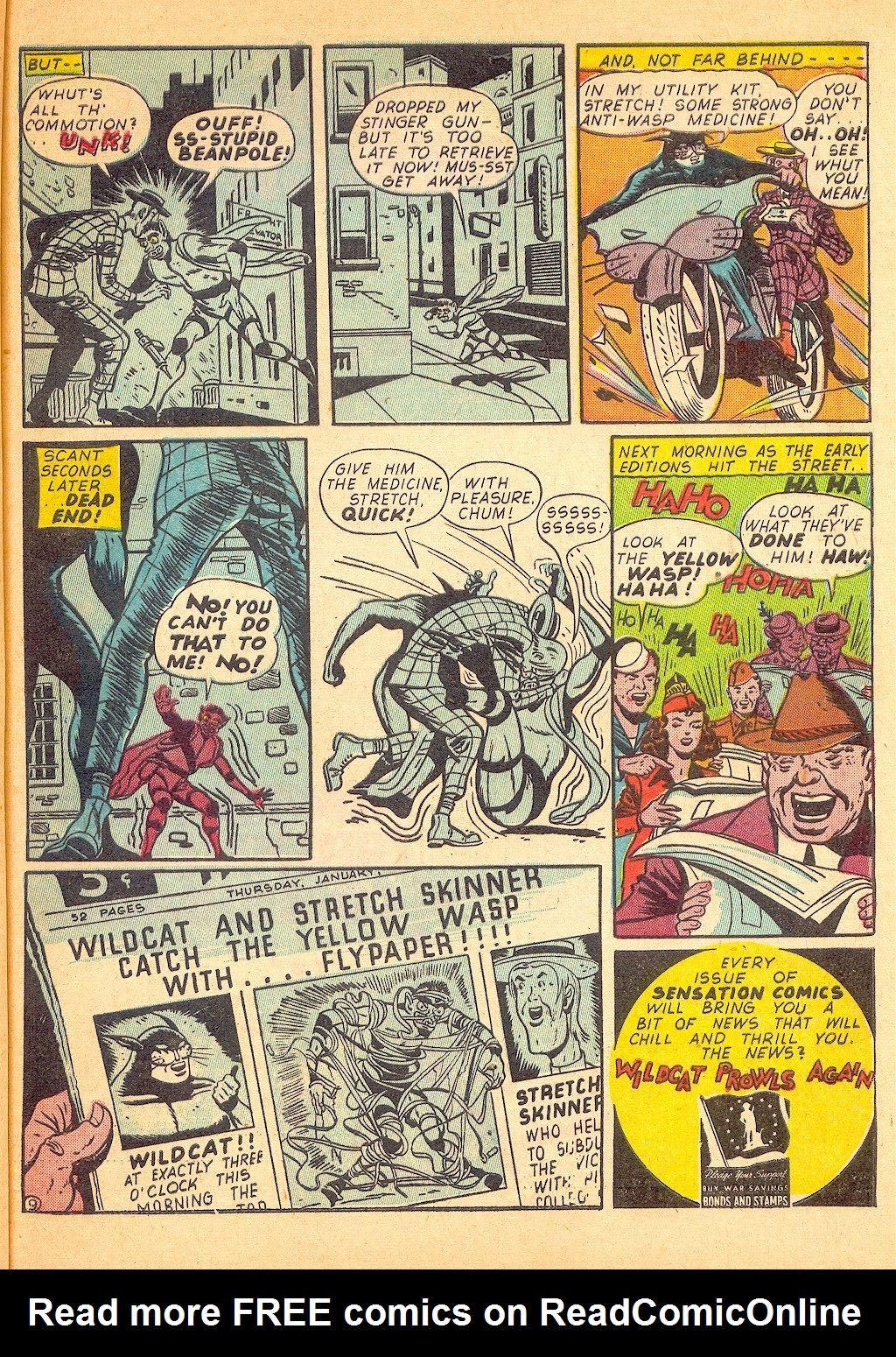 Read online Sensation (Mystery) Comics comic -  Issue #25 - 57