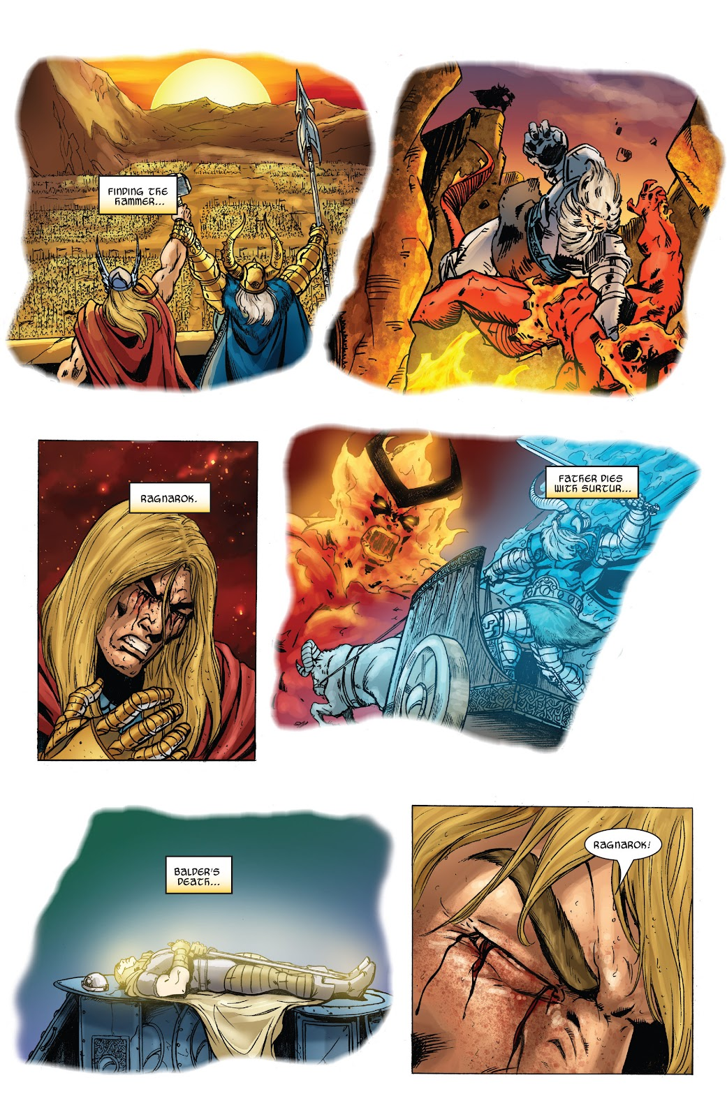 Read online Thor: Ragnaroks comic -  Issue # TPB (Part 3) - 17