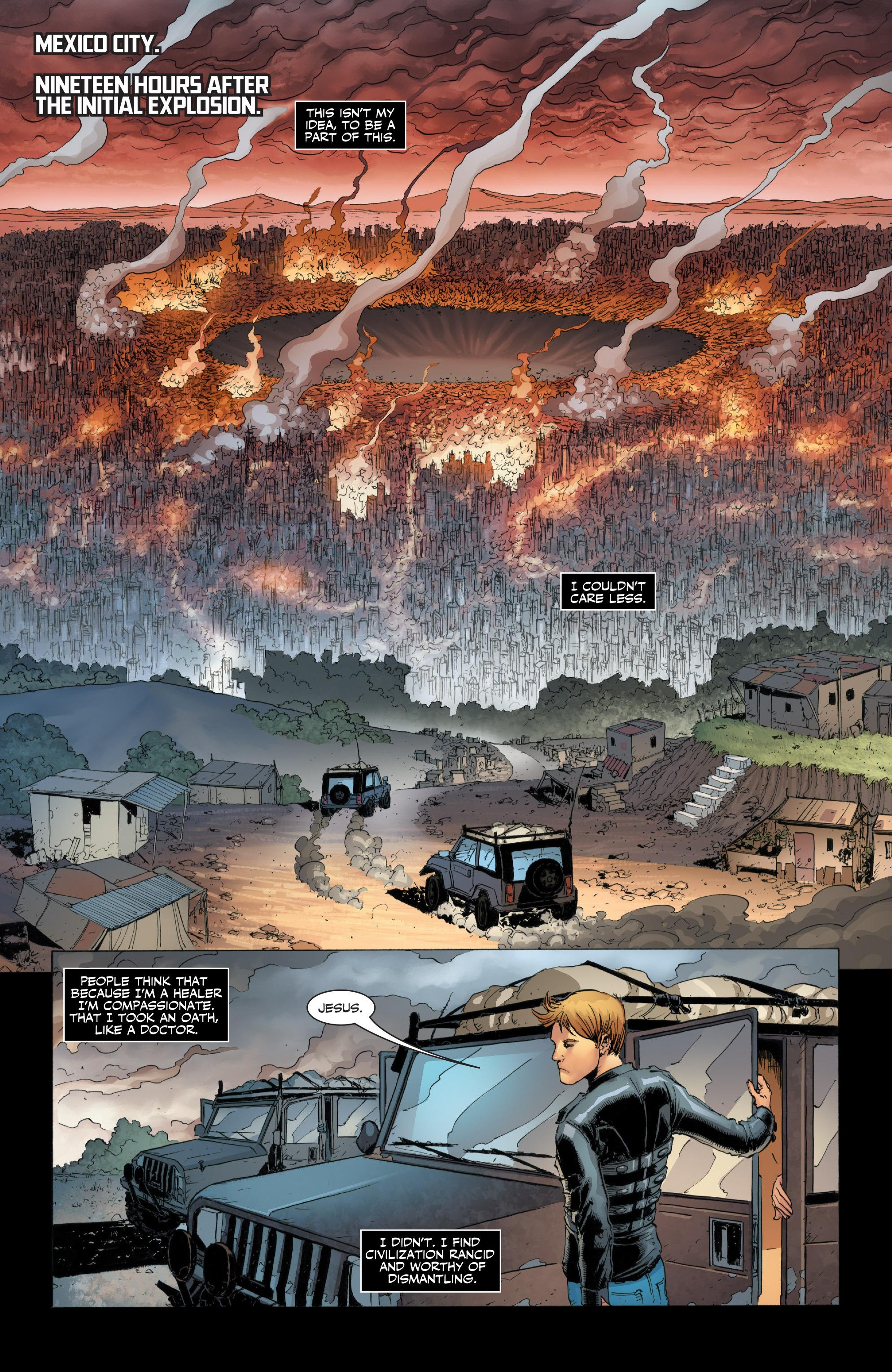 Read online Armor Hunters: Harbinger comic -  Issue # TPB - 12
