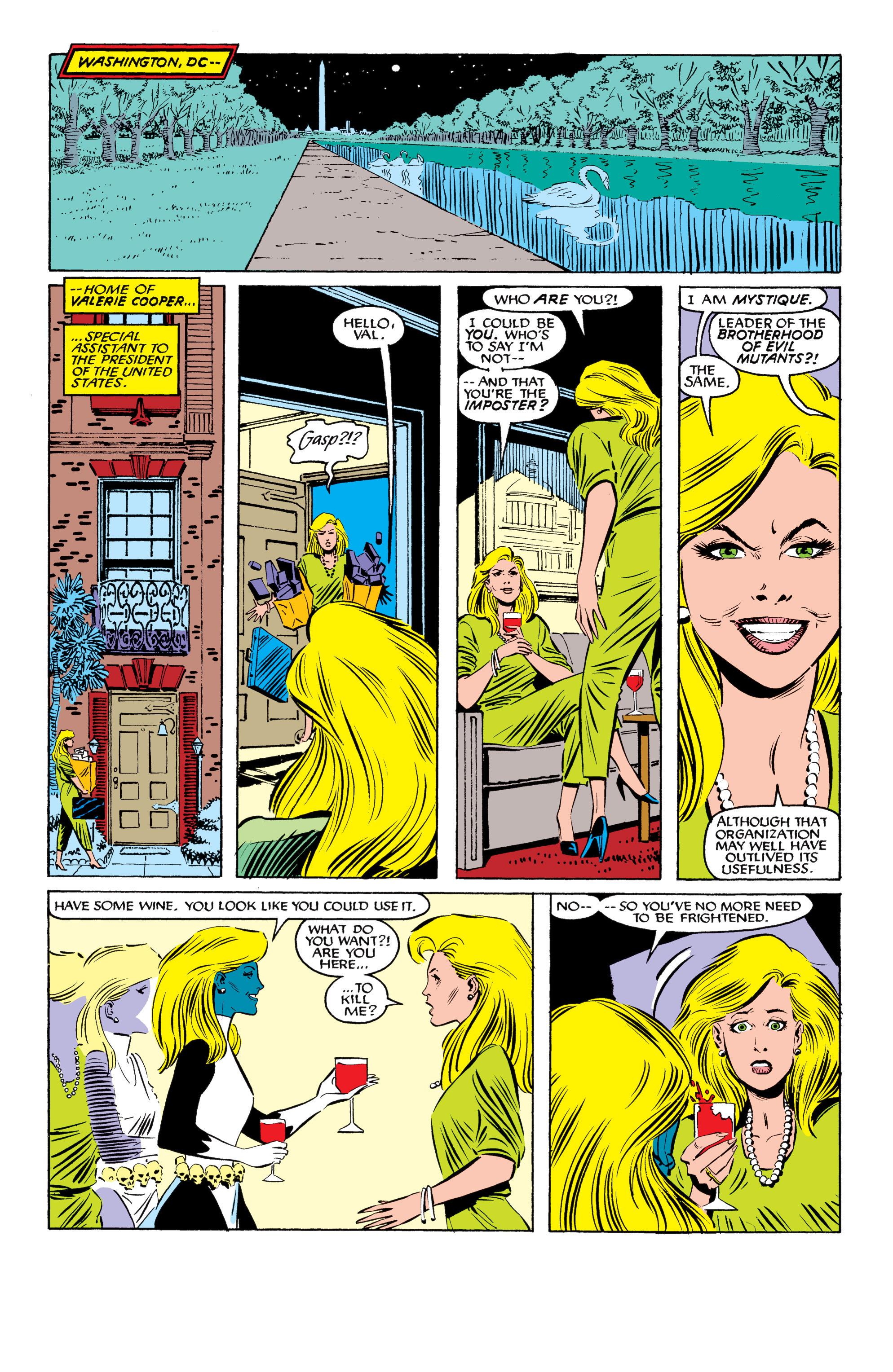 Read online Uncanny X-Men (1963) comic -  Issue #199 - 6