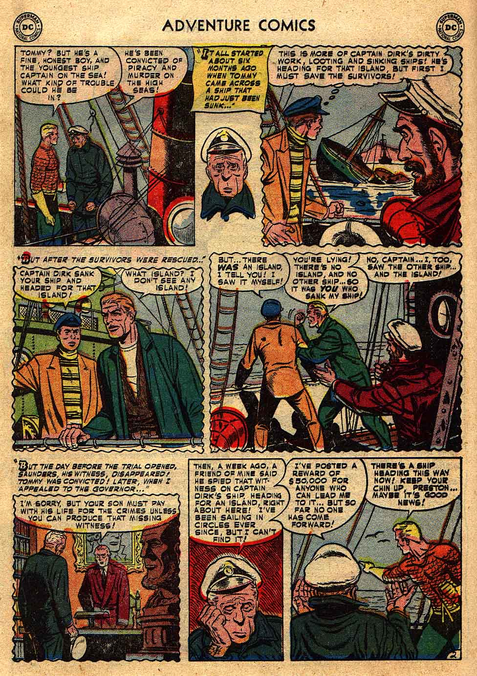Read online Adventure Comics (1938) comic -  Issue #175 - 18