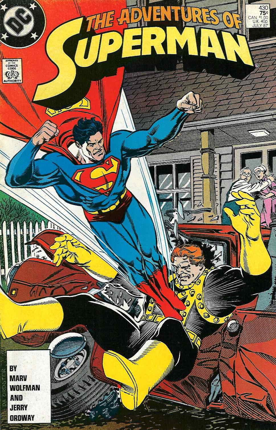 Adventures of Superman (1987) 430 Page 1