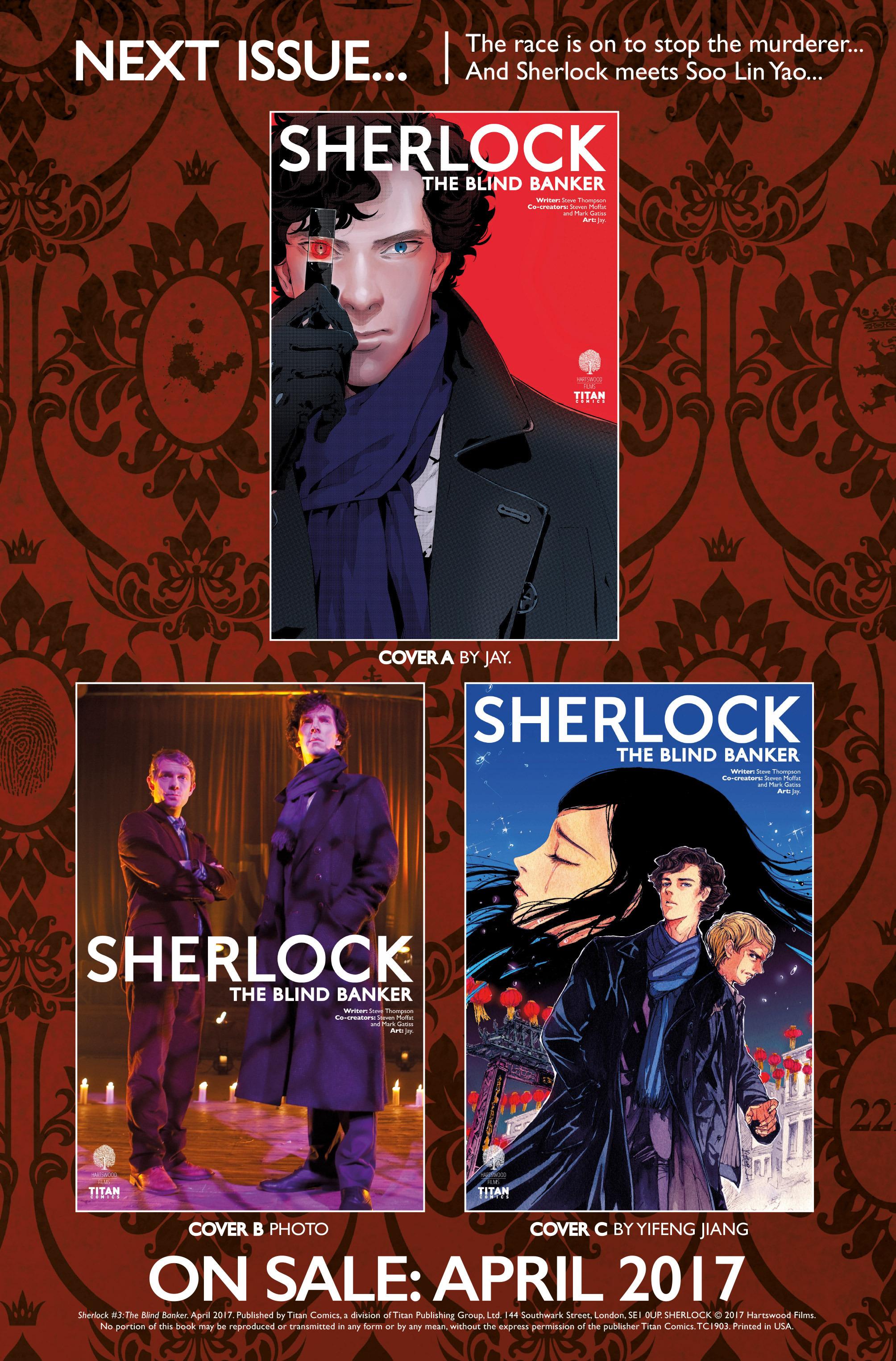 Read online Sherlock: The Blind Banker comic -  Issue #3 - 39