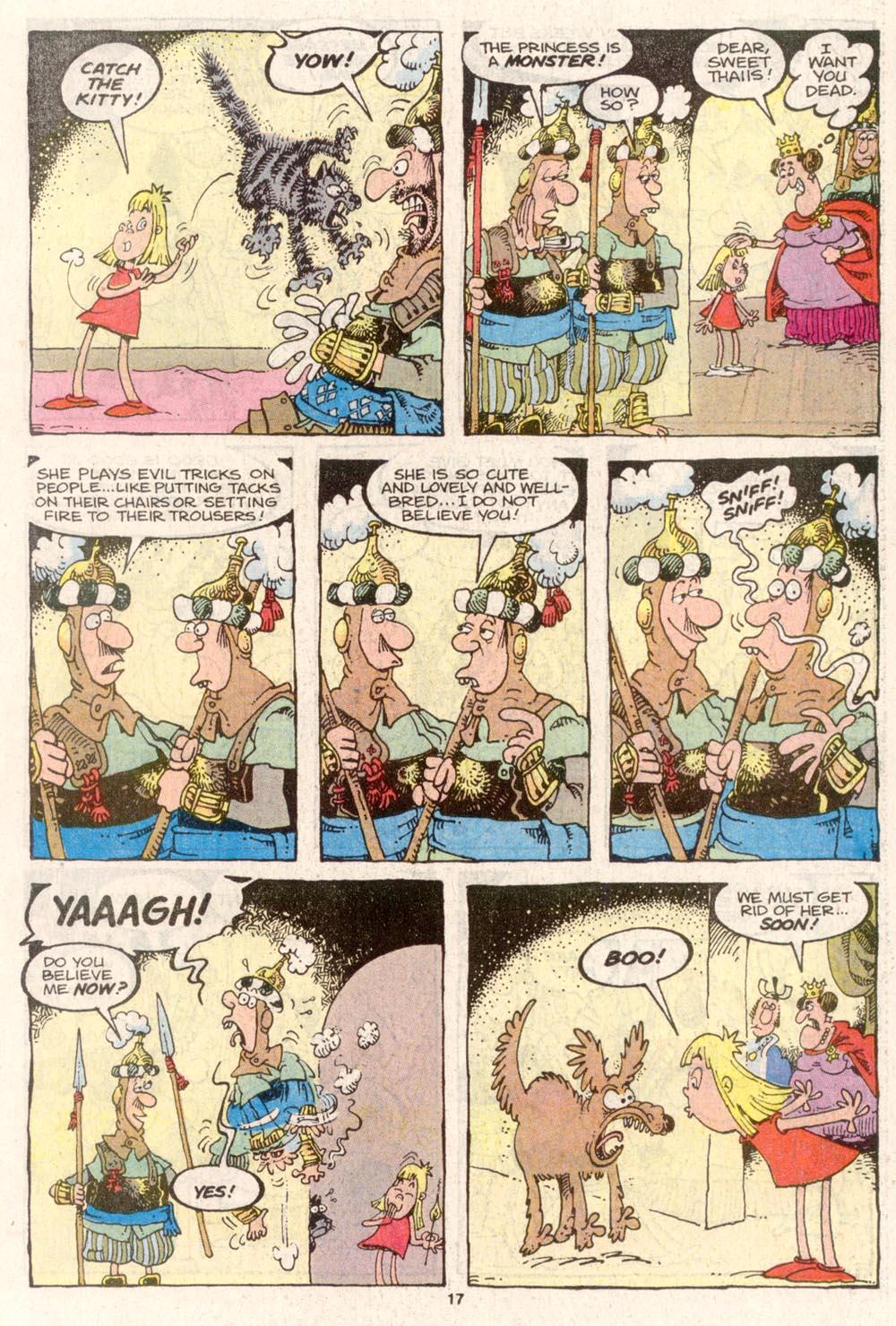 Read online Sergio Aragonés Groo the Wanderer comic -  Issue #80 - 13