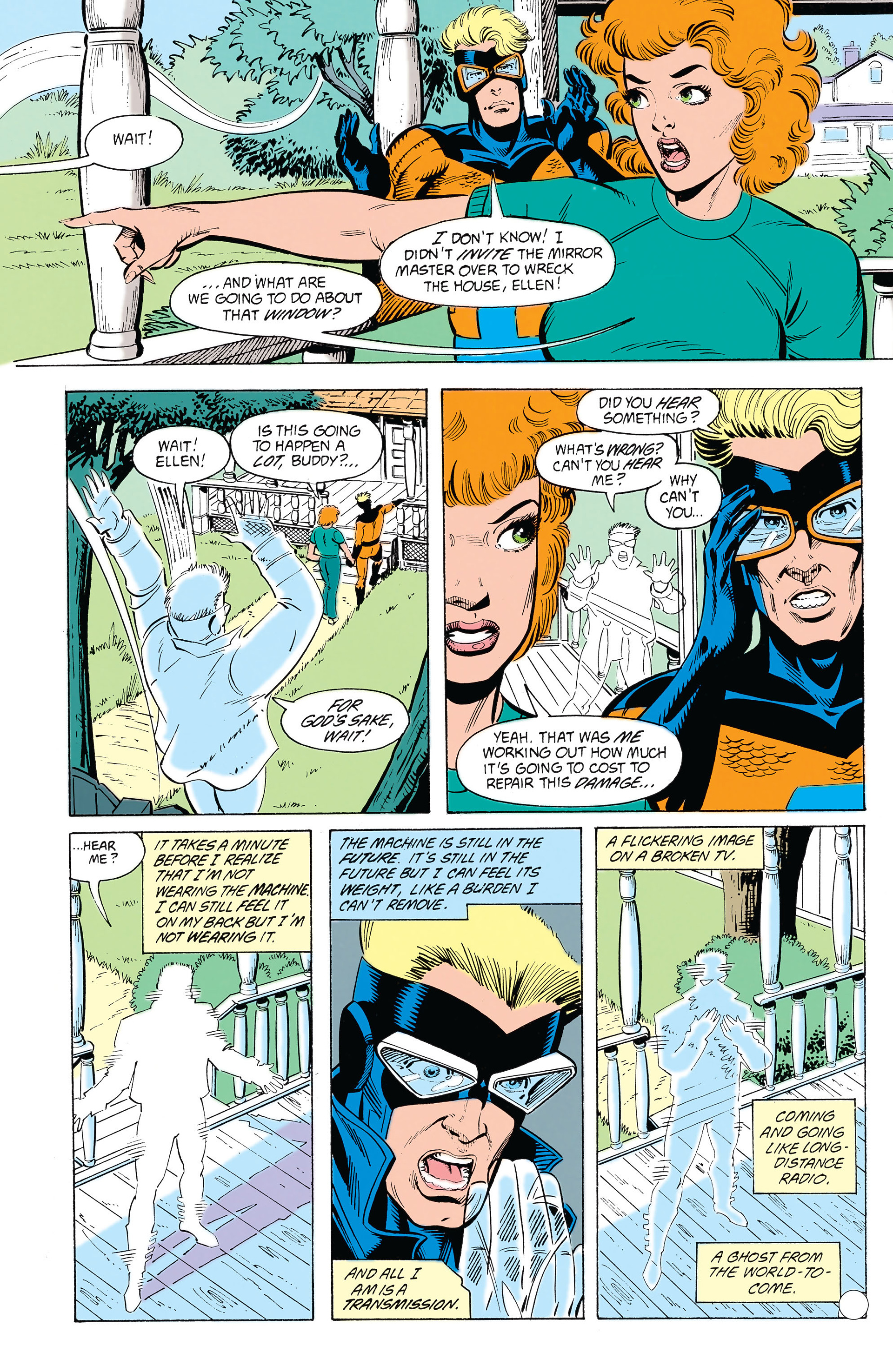 Read online Animal Man (1988) comic -  Issue #22 - 12