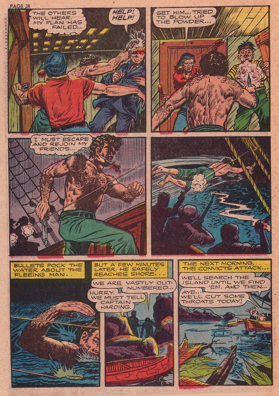 Classics Illustrated issue 34 - Page 36