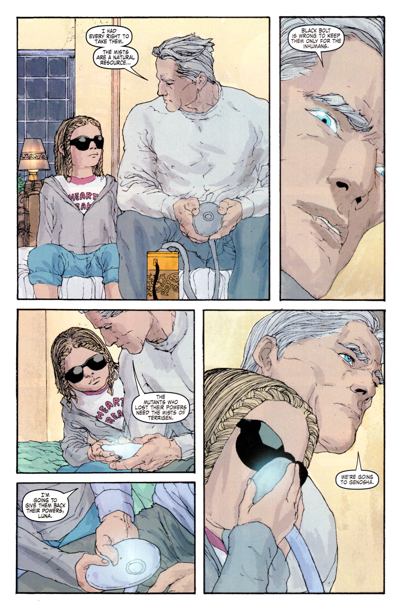 Read online Son of M comic -  Issue #4 - 16