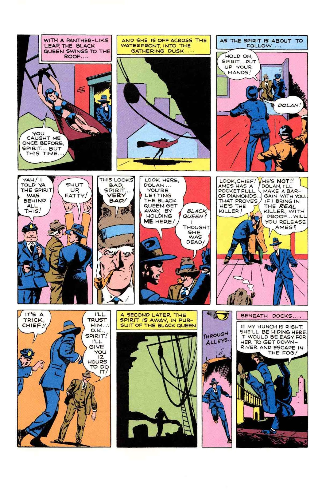 Read online Will Eisner's The Spirit Archives comic -  Issue # TPB 1 (Part 2) - 66