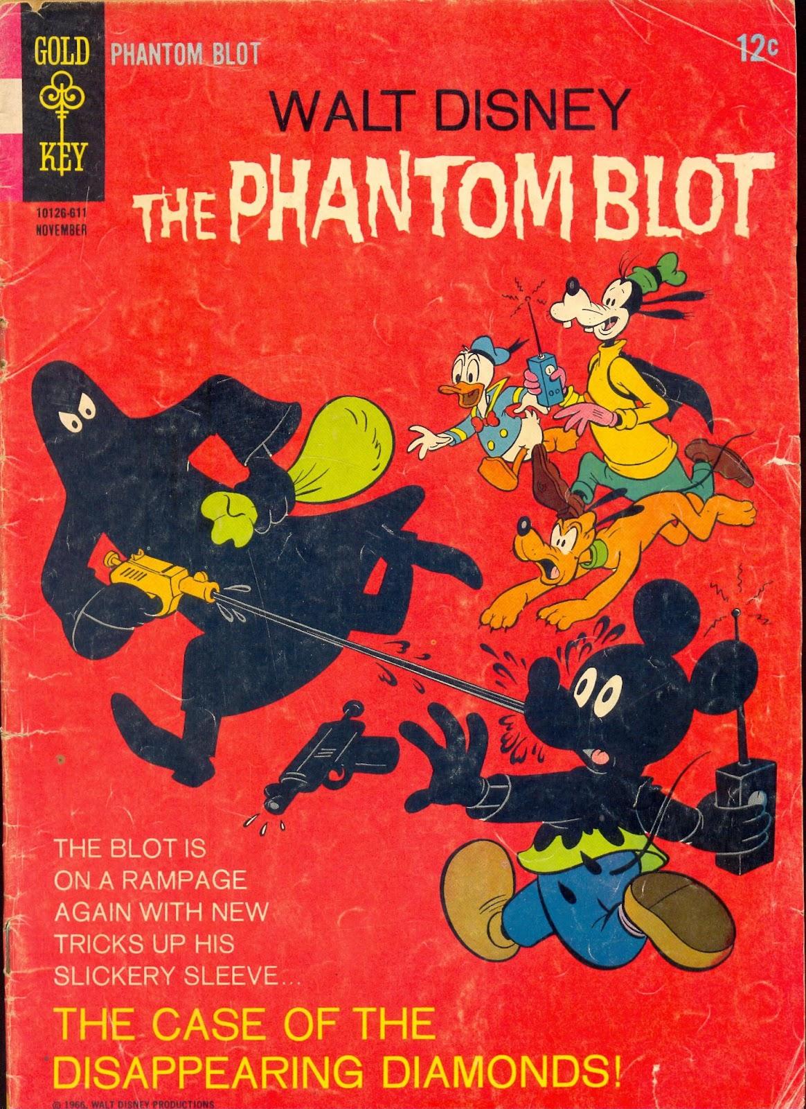 Walt Disneys The Phantom Blot 7 Page 1