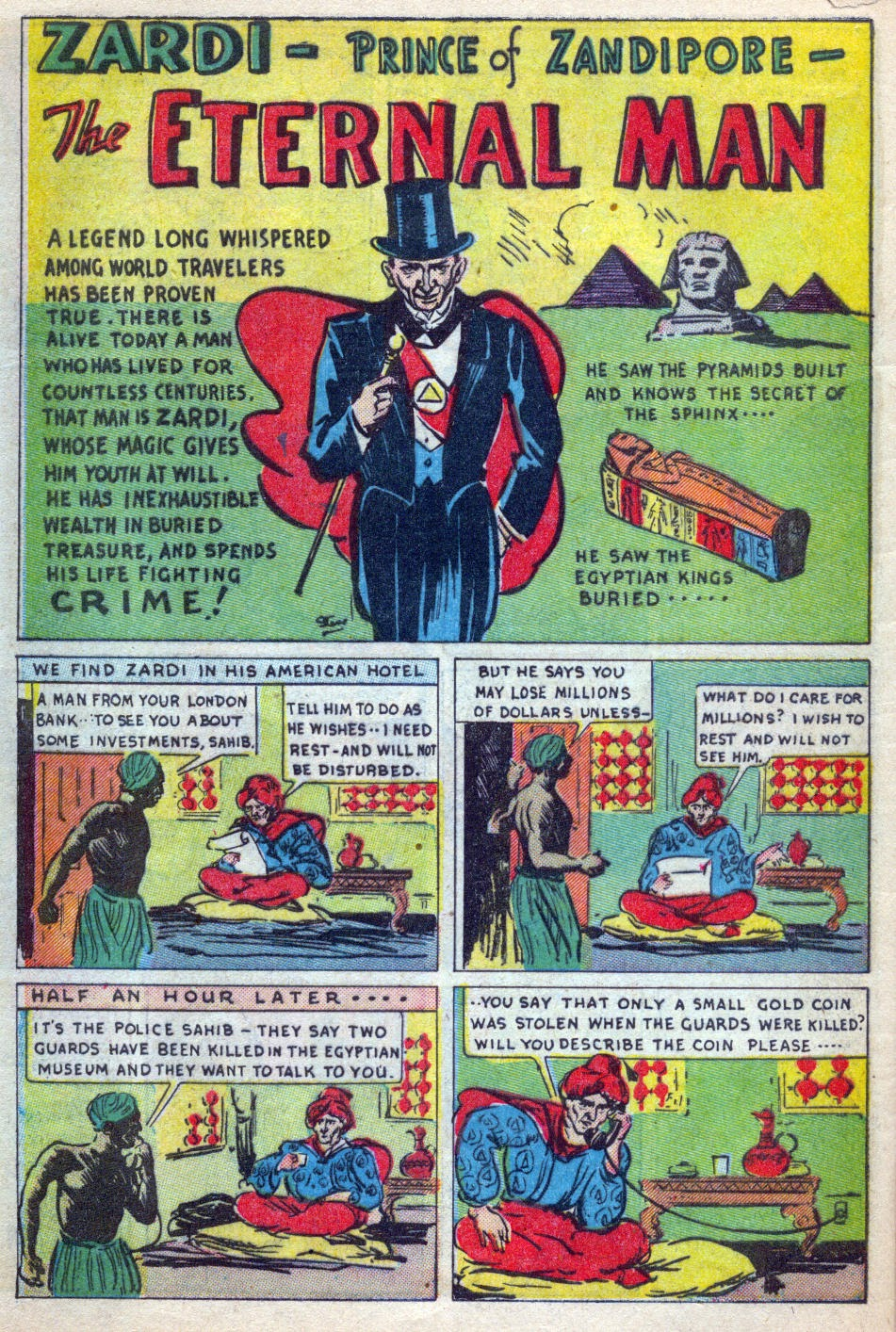 Read online Amazing Man Comics comic -  Issue #15 - 59