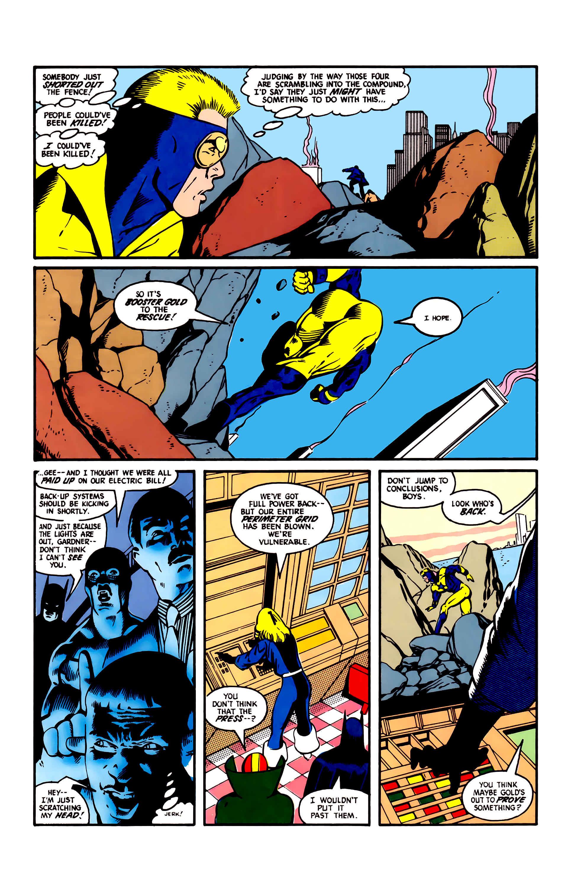 Read online Justice League (1987) comic -  Issue #4 - 8