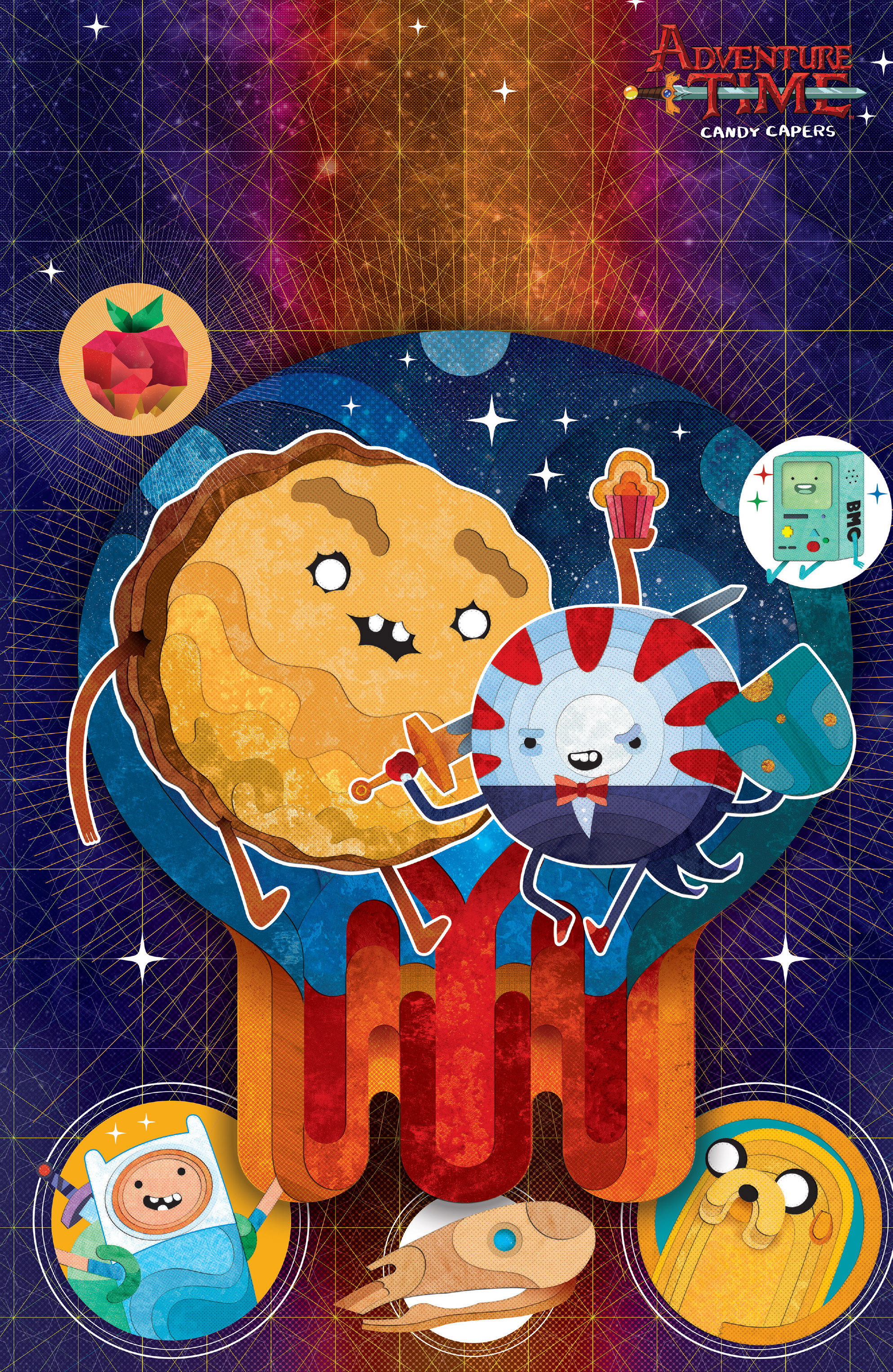 Read online Adventure Time: Candy Capers comic -  Issue #5 - 5