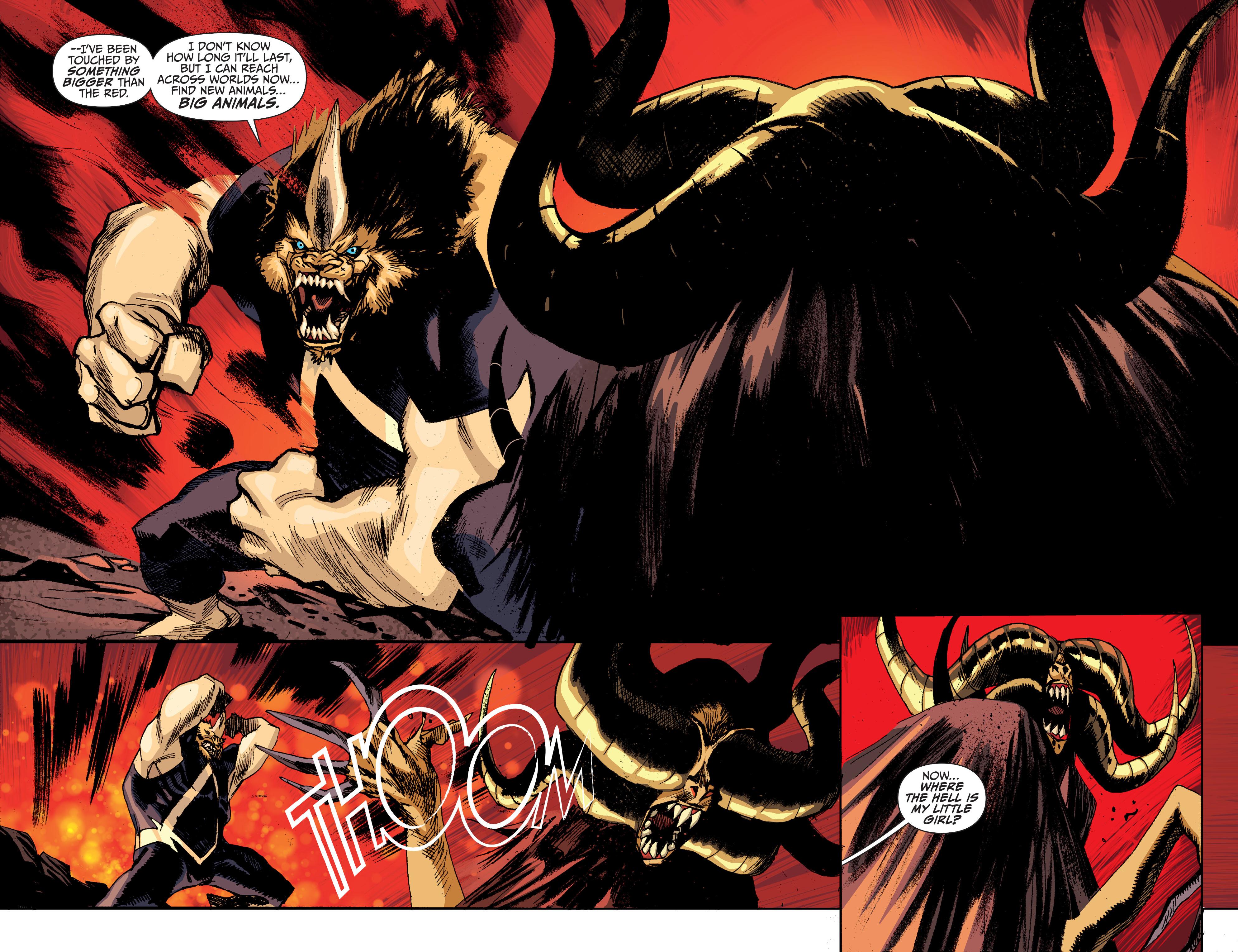 Read online Animal Man (2011) comic -  Issue #27 - 5