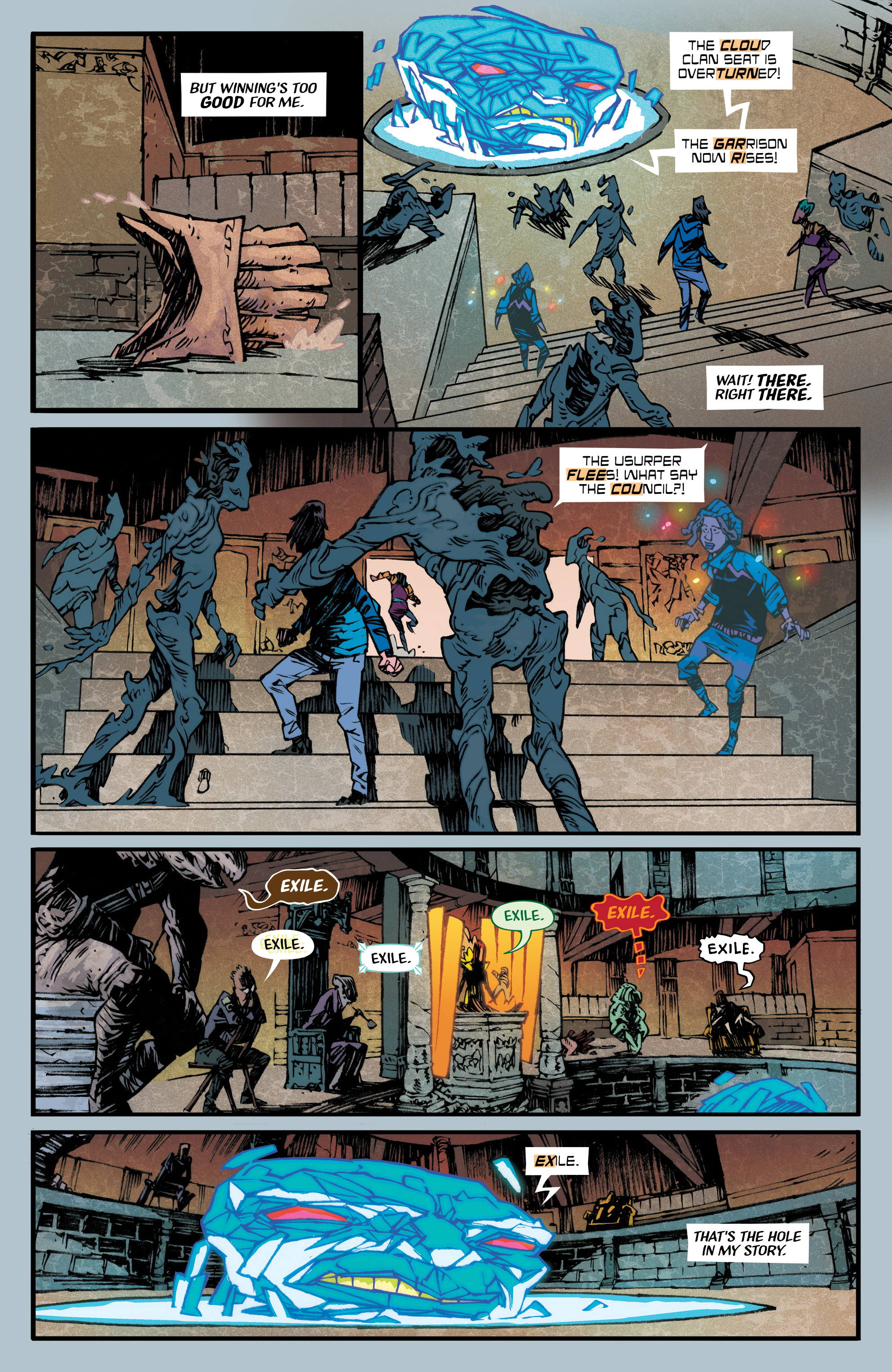 Read online Black Cloud comic -  Issue #3 - 17