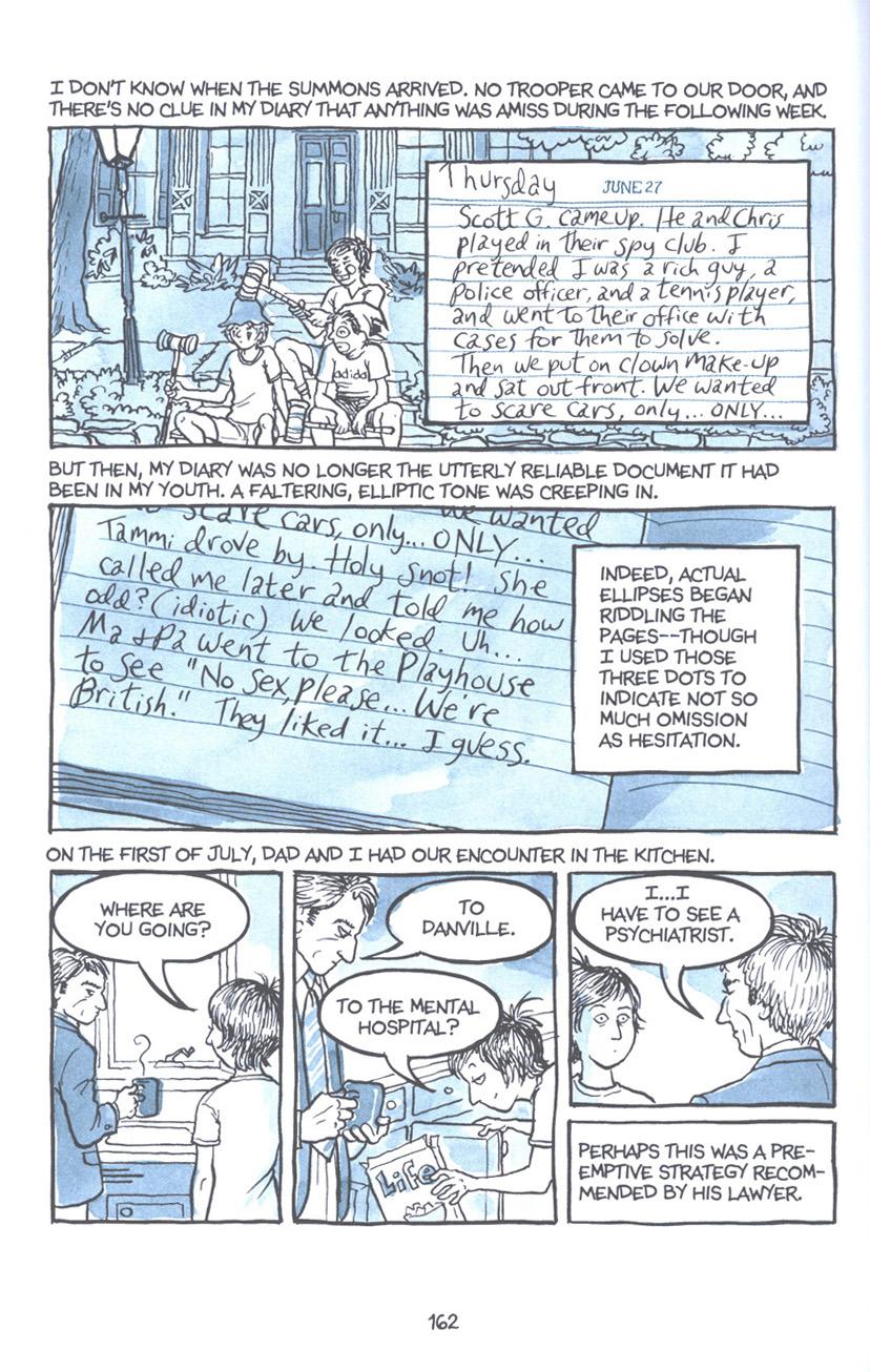 Read online Fun Home: A Family Tragicomic comic -  Issue # TPB - 168