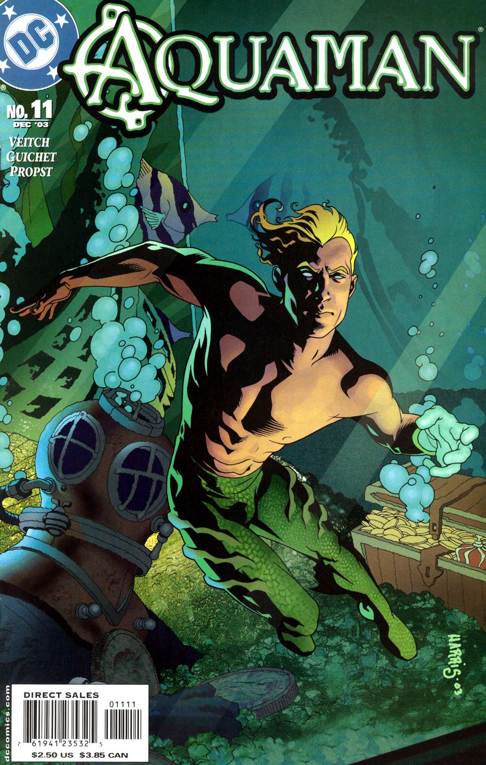 Read online Aquaman (2003) comic -  Issue #11 - 1