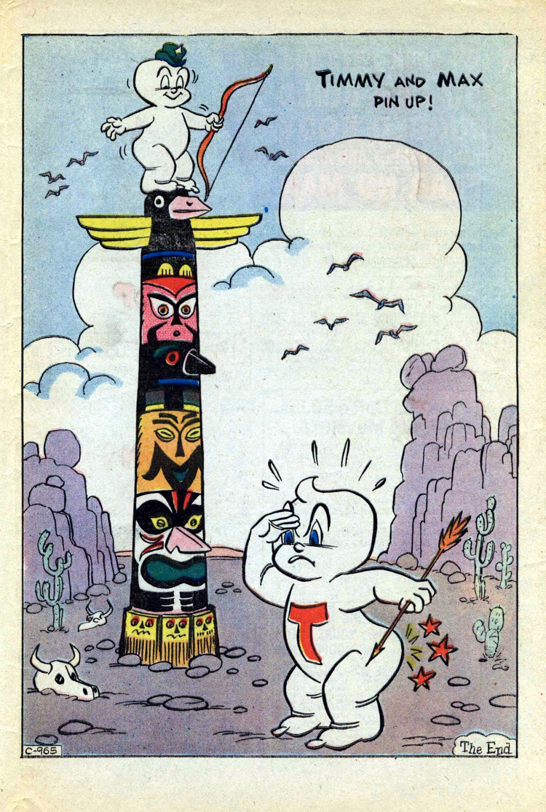 Read online Timmy the Timid Ghost comic -  Issue #17 - 33