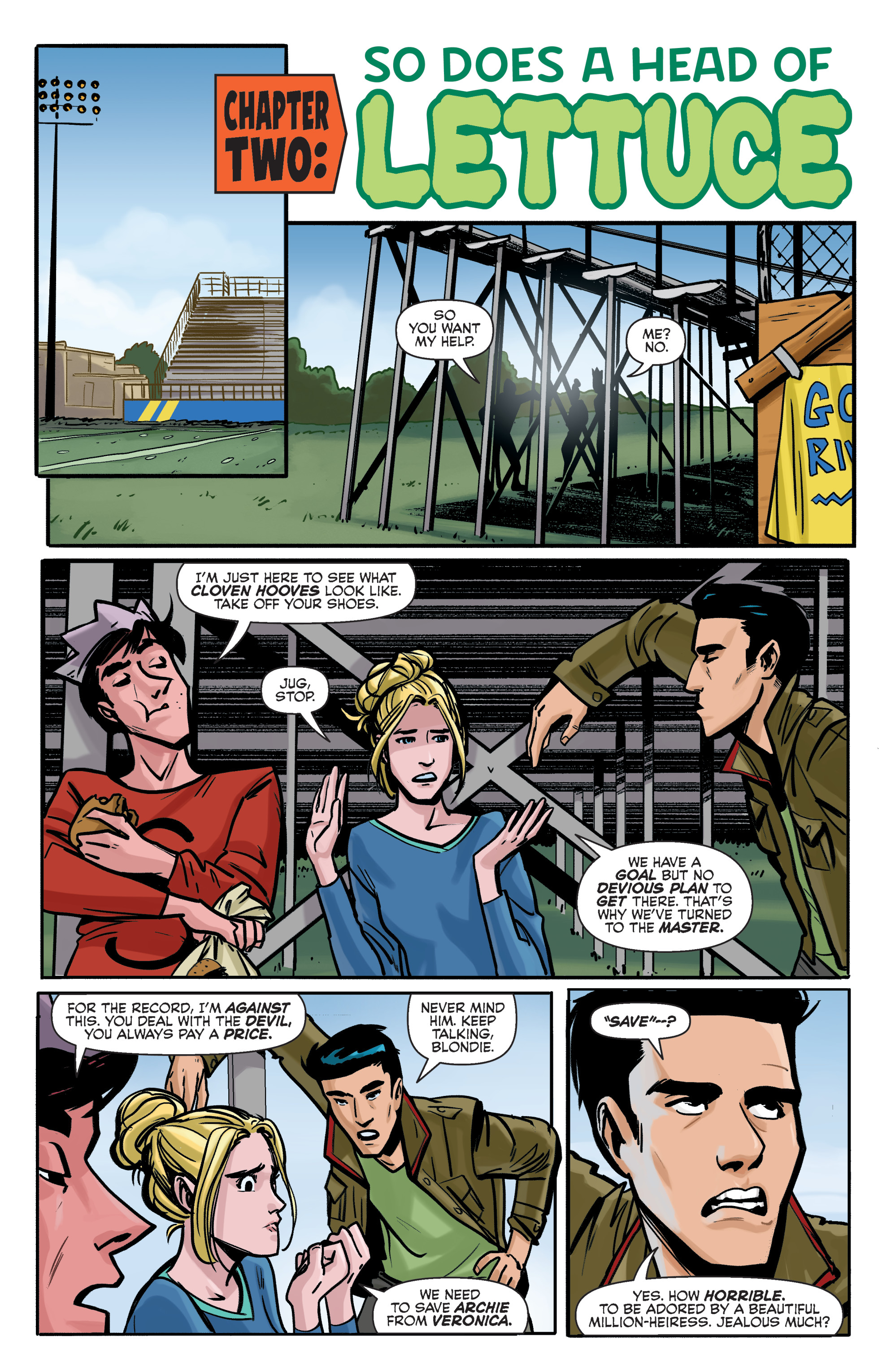Read online Archie (2015) comic -  Issue #5 - 10
