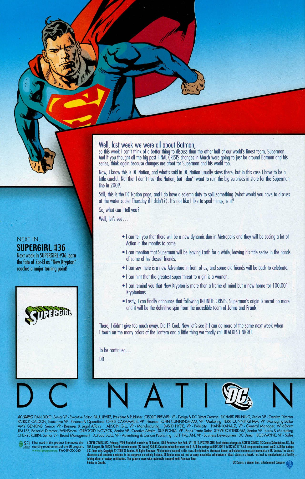 Read online Action Comics (1938) comic -  Issue #872 - 34