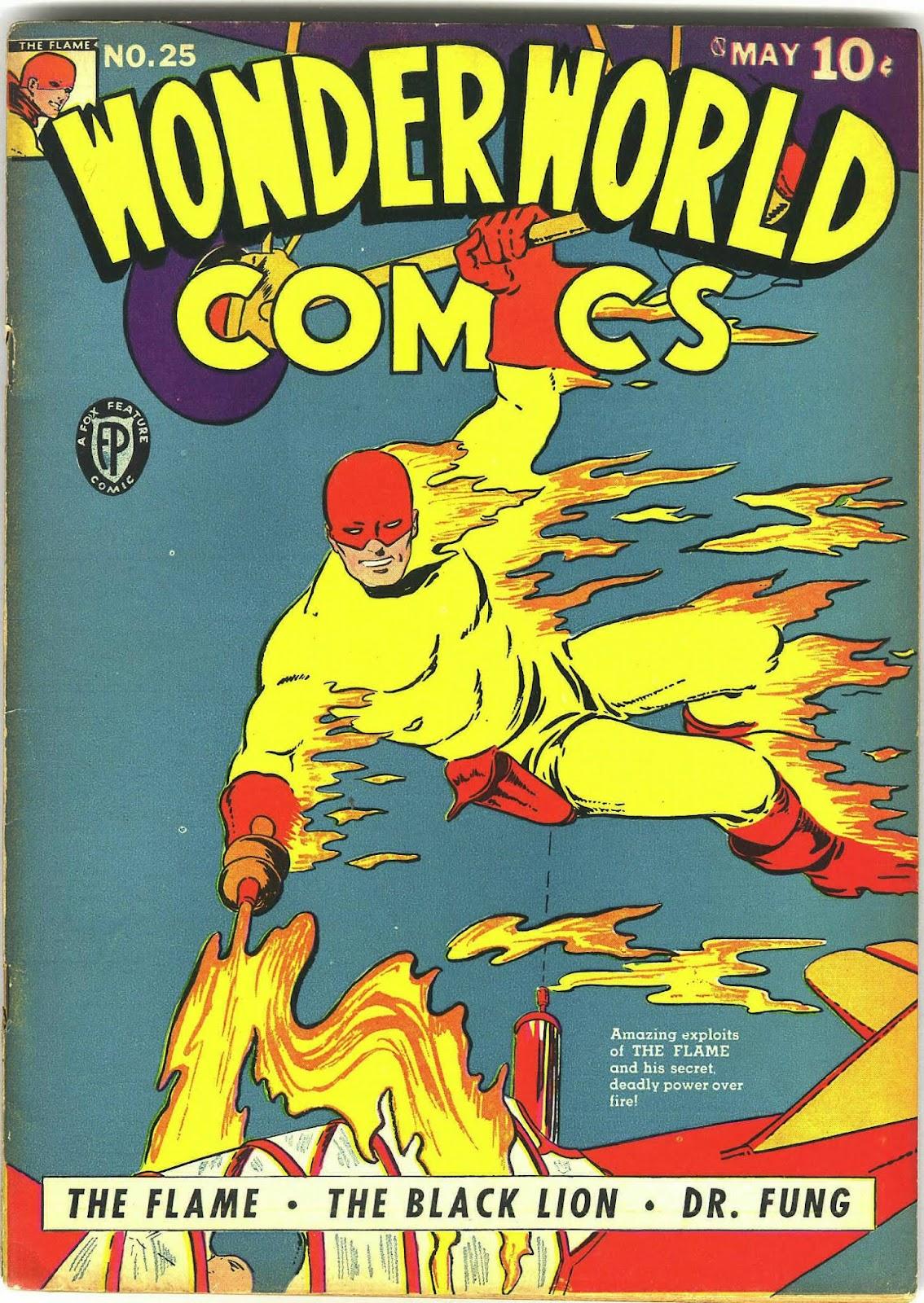 Wonderworld Comics issue 25 - Page 1