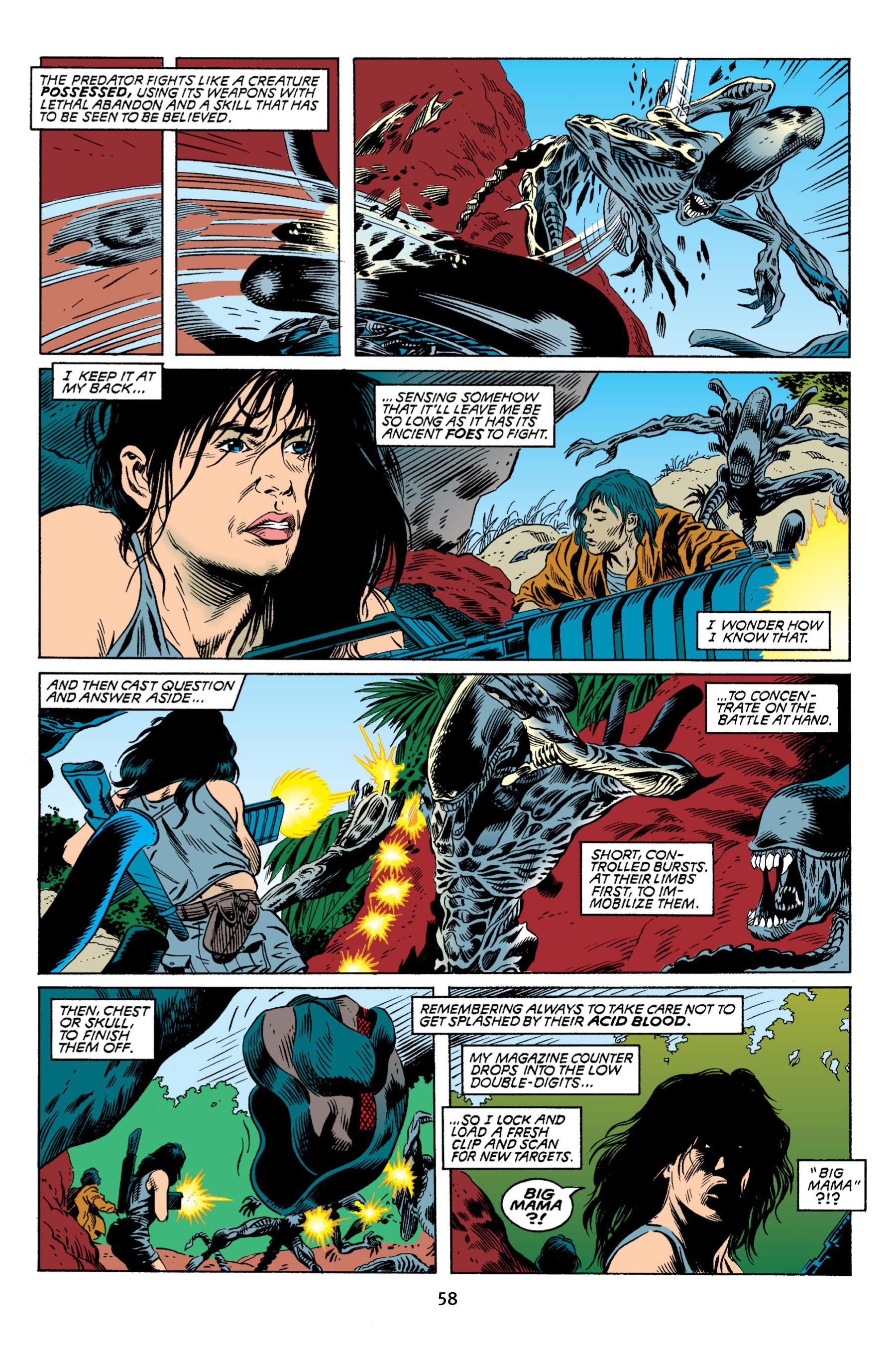 Read online Aliens vs. Predator Omnibus comic -  Issue # _TPB 2 Part 1 - 58