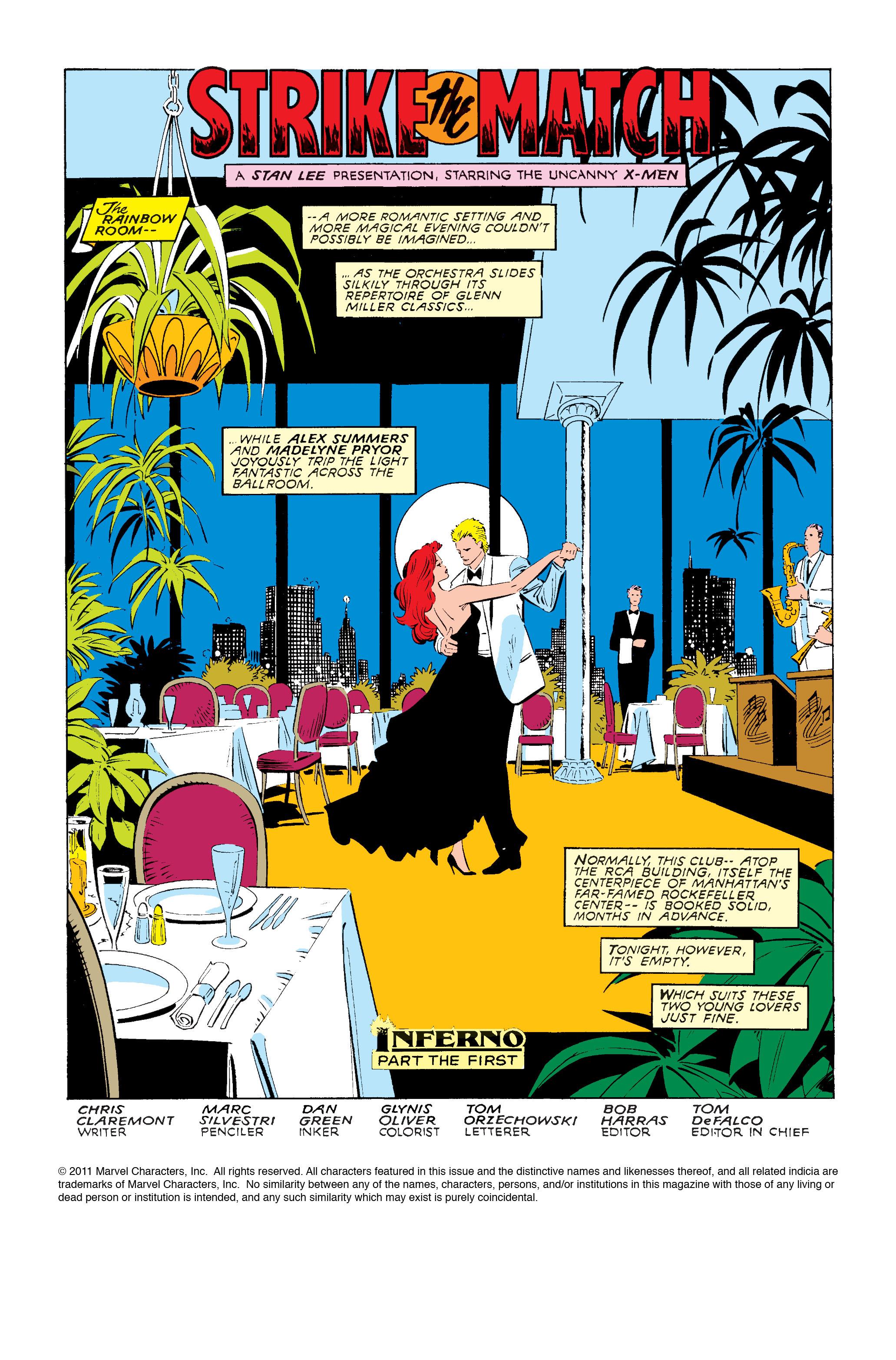 Read online Uncanny X-Men (1963) comic -  Issue #240 - 2