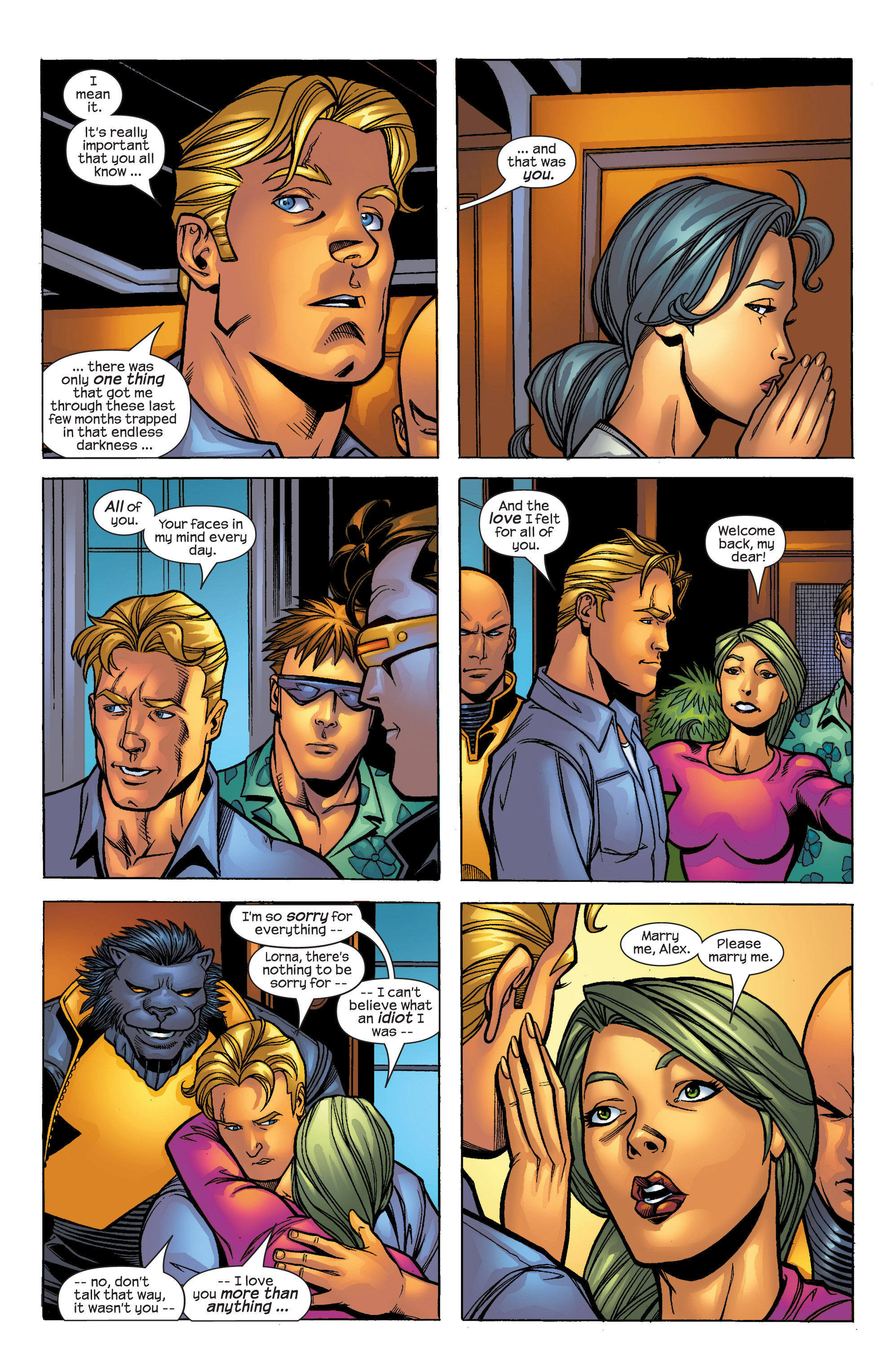 Read online Uncanny X-Men (1963) comic -  Issue #421 - 9