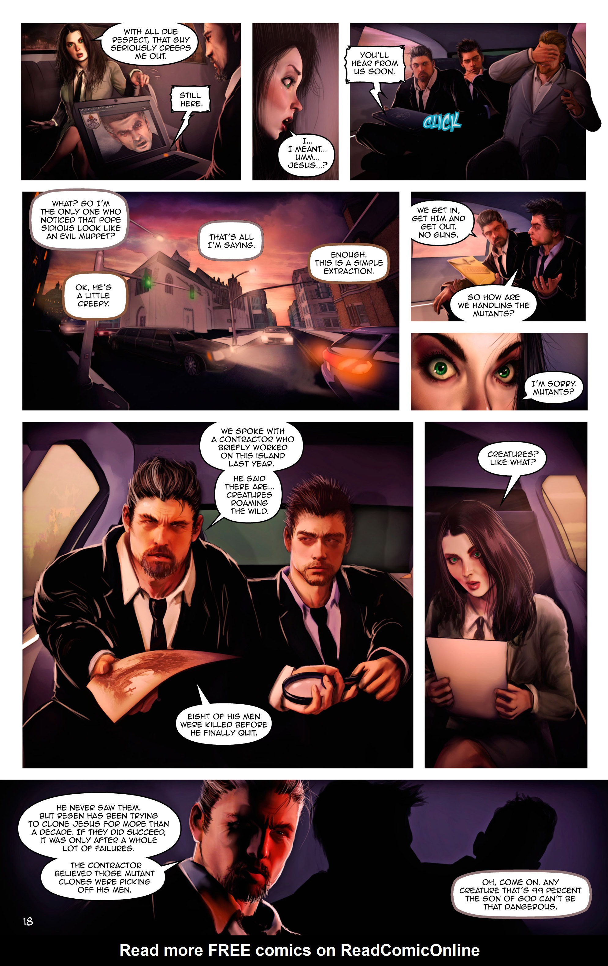 Read online Escape from Jesus Island comic -  Issue #2 - 18