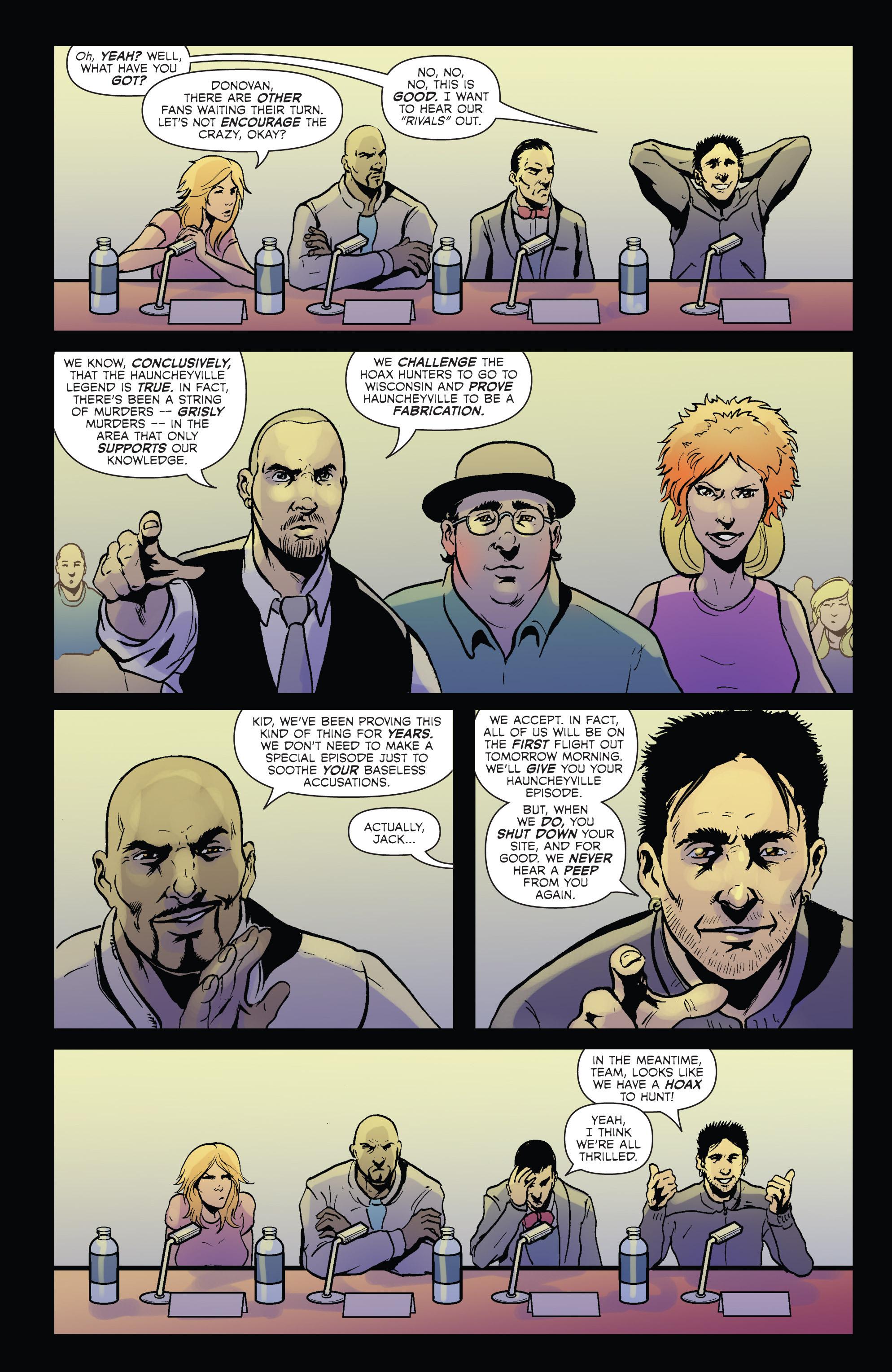 Read online Hoax Hunters (2012) comic -  Issue # TPB 2 - 15