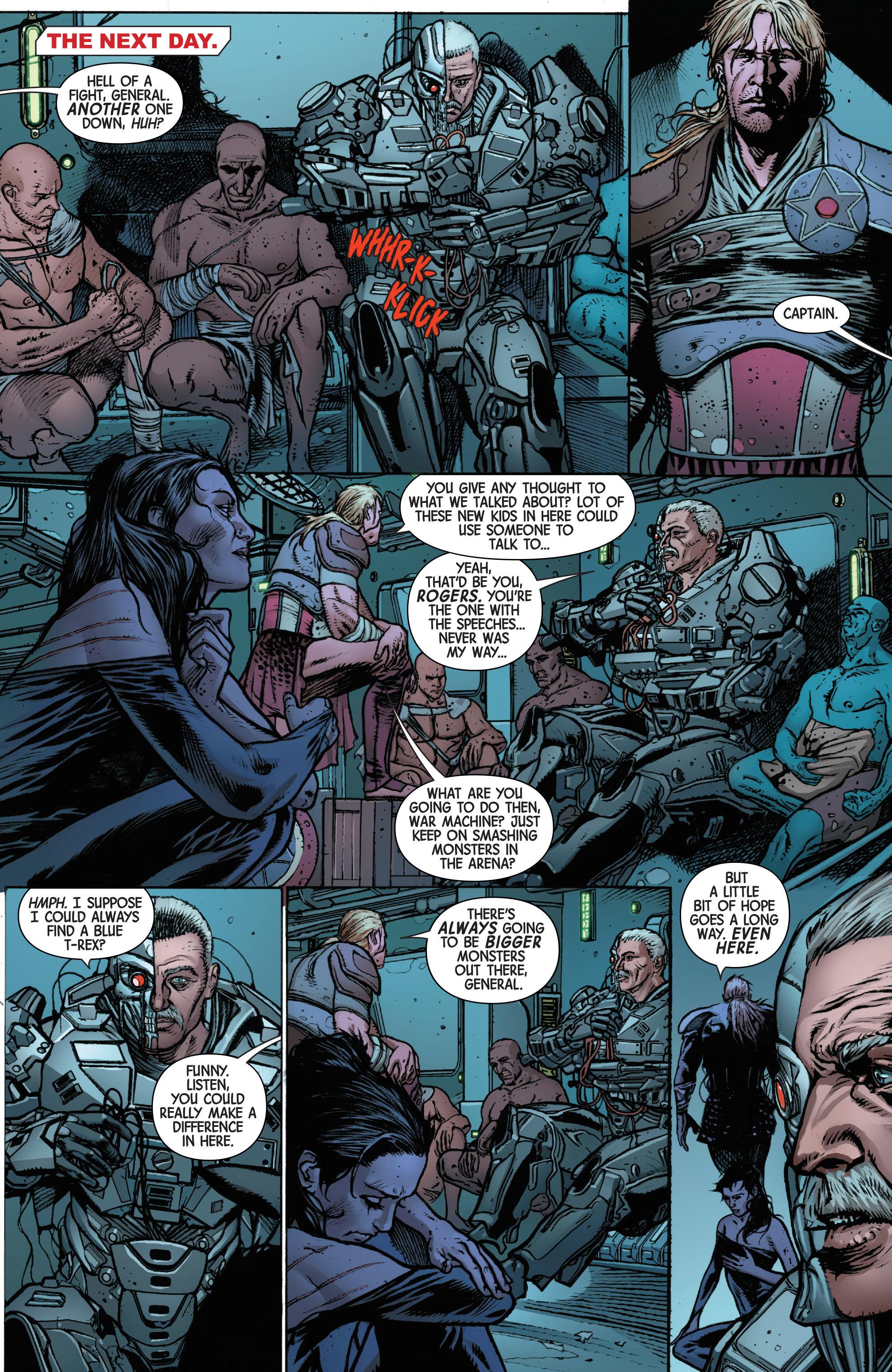 Read online Secret Wars: Battleworld comic -  Issue #2 - 17