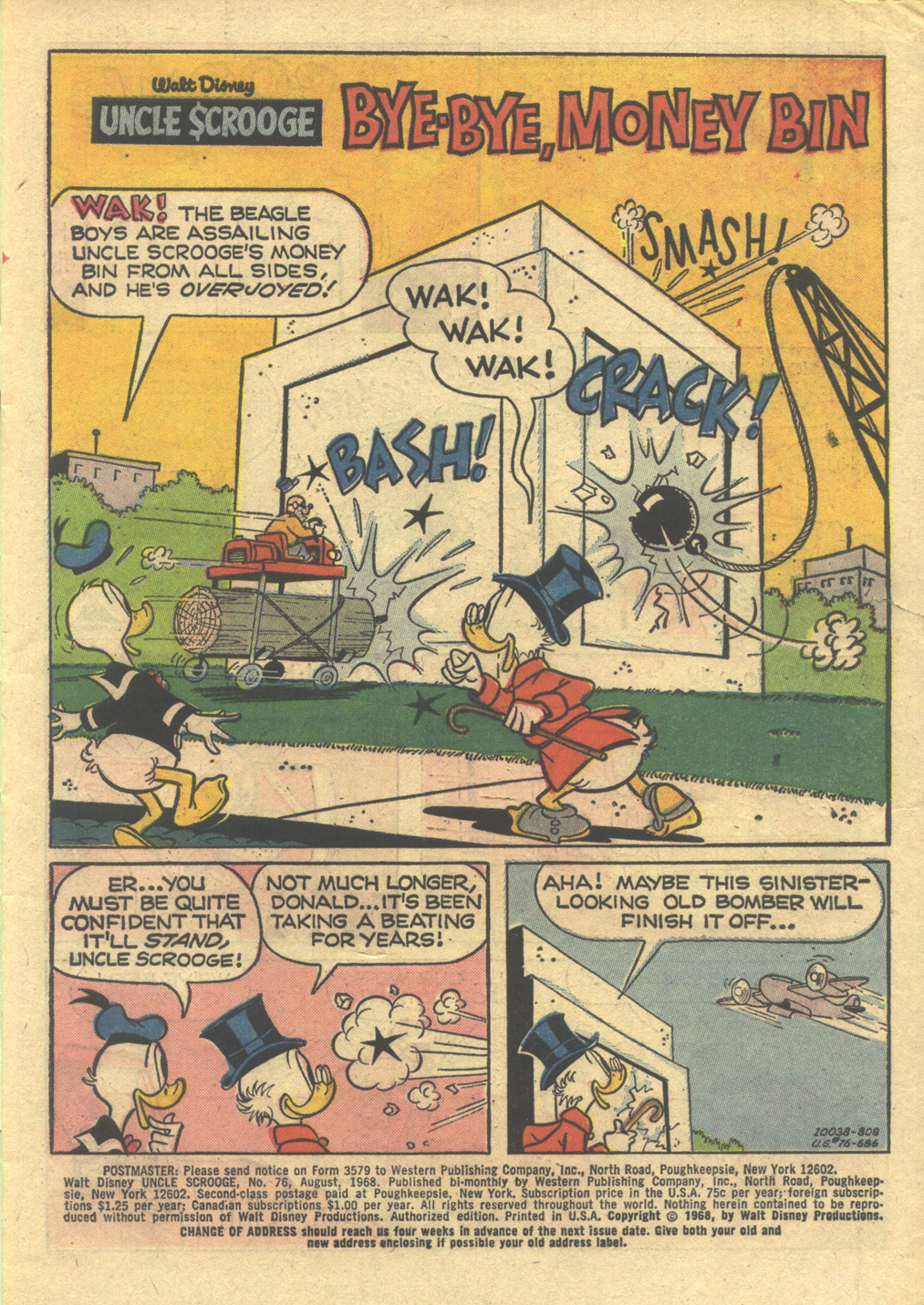 Read online Uncle Scrooge (1953) comic -  Issue #76 - 3
