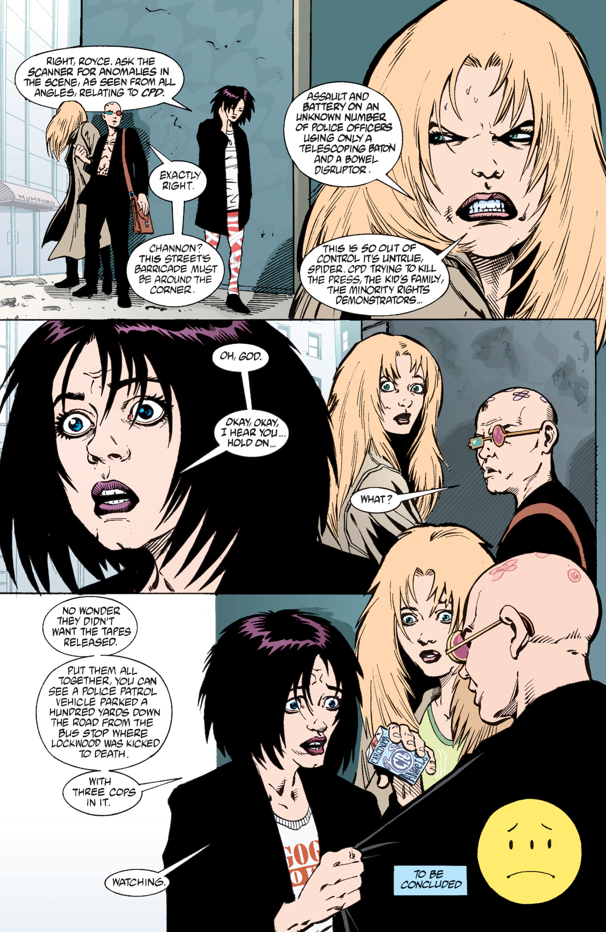 Read online Transmetropolitan comic -  Issue #29 - 23
