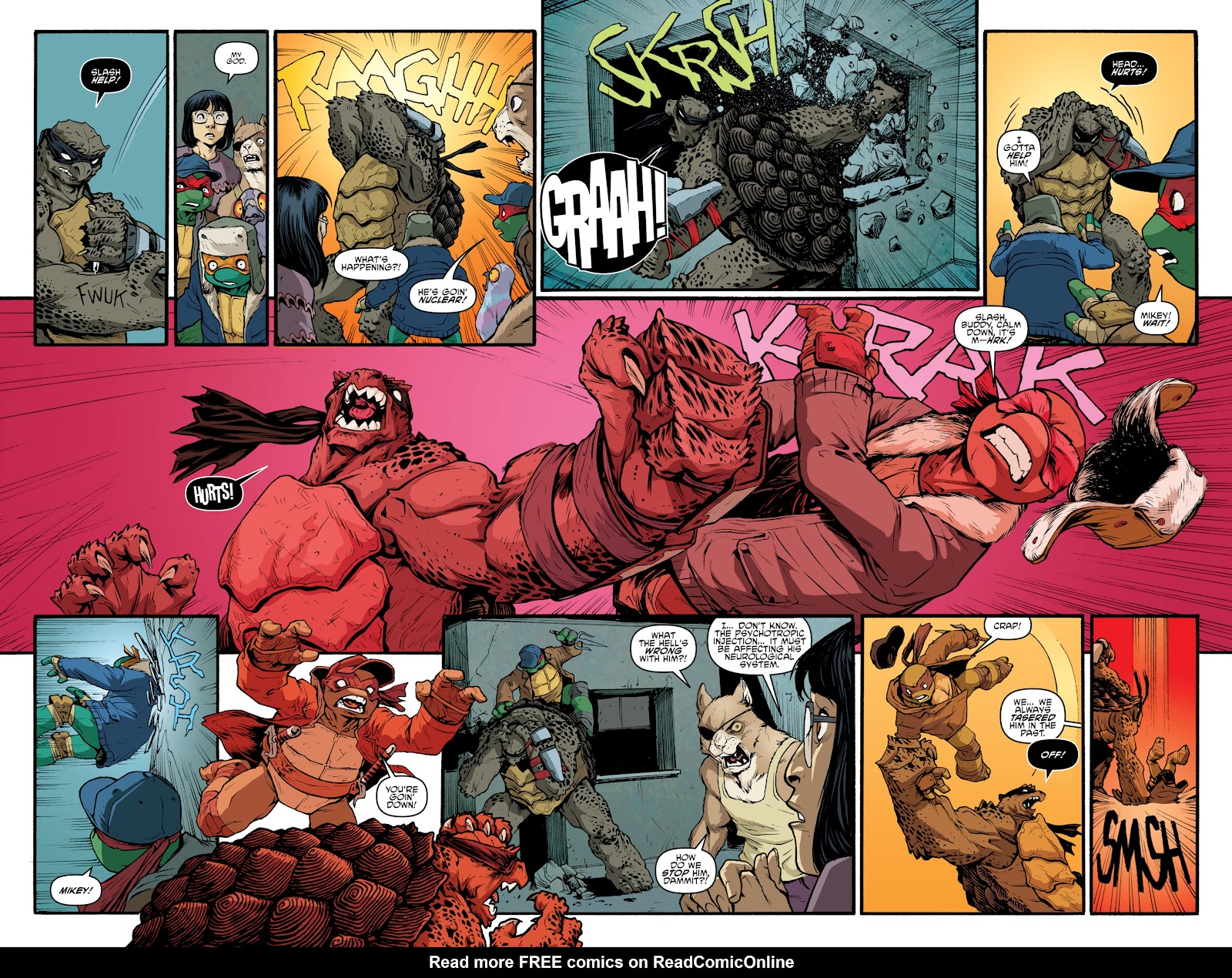 Read online Teenage Mutant Ninja Turtles: The IDW Collection comic -  Issue # TPB 4 (Part 3) - 73