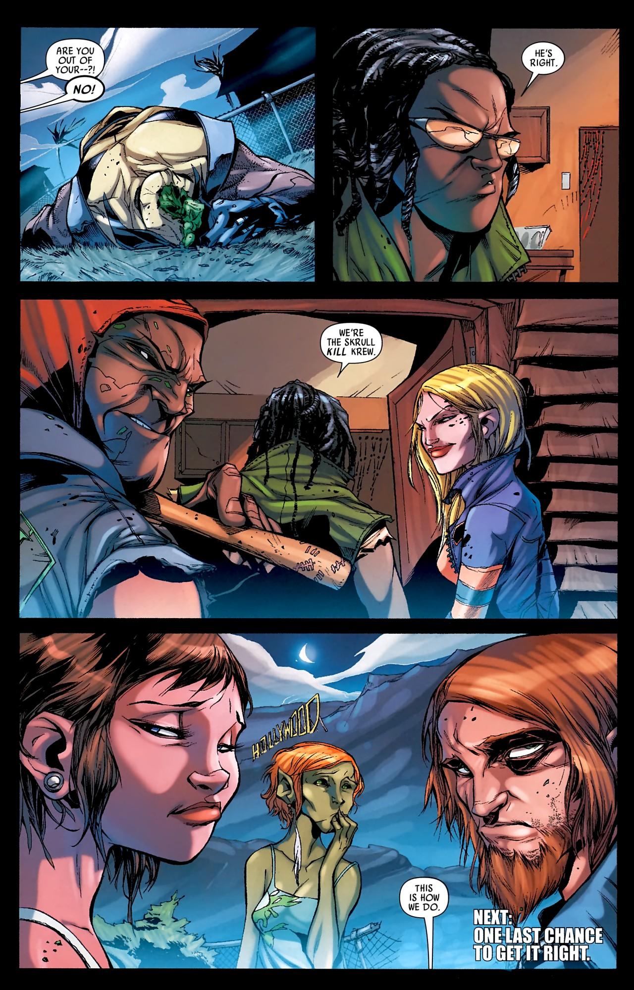Read online Skrull Kill Krew (2009) comic -  Issue #4 - 25