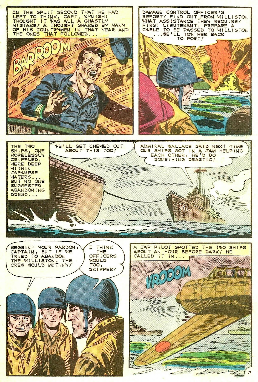Read online Fightin' Navy comic -  Issue #125 - 16