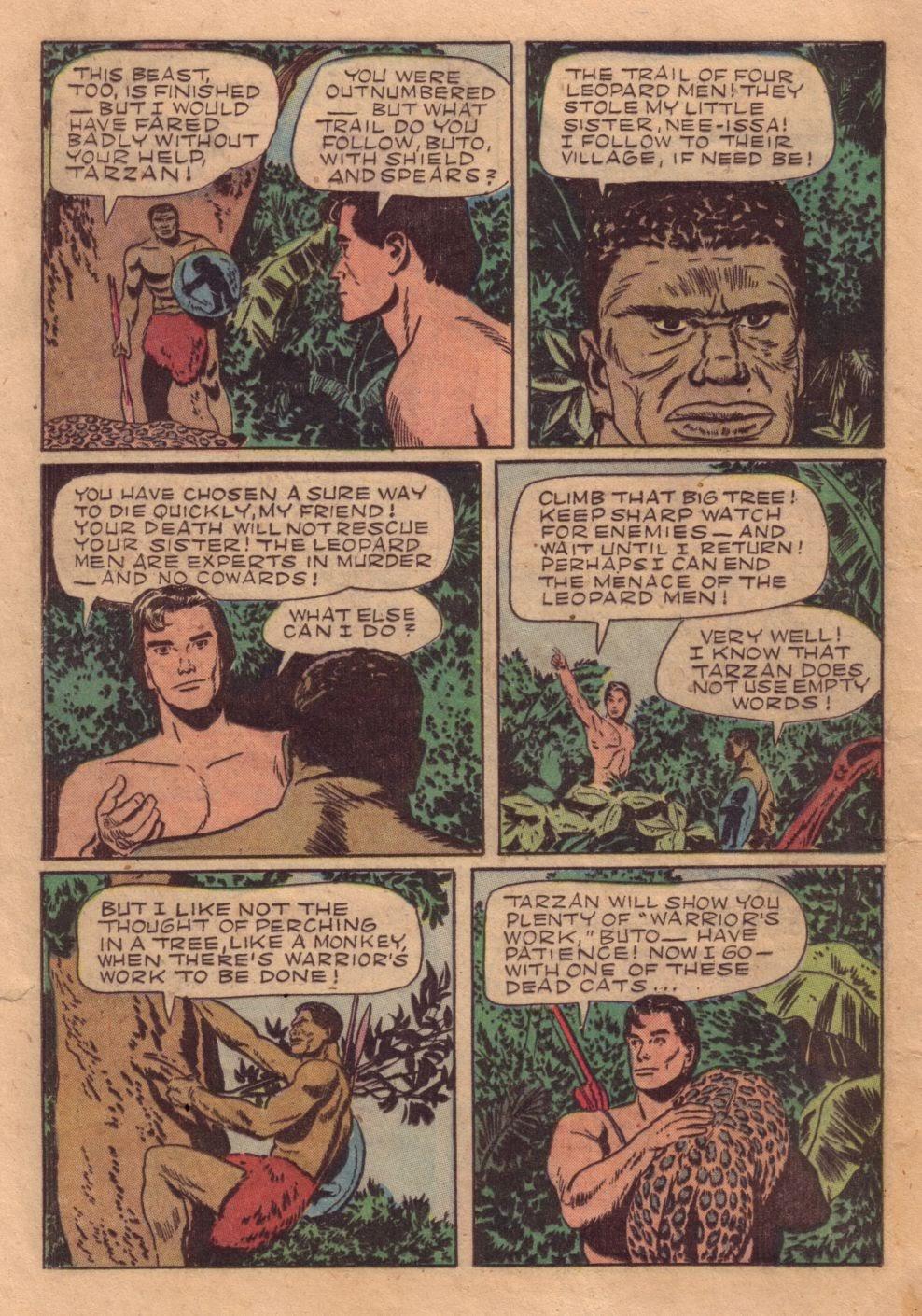 Tarzan (1948) issue 40 - Page 32