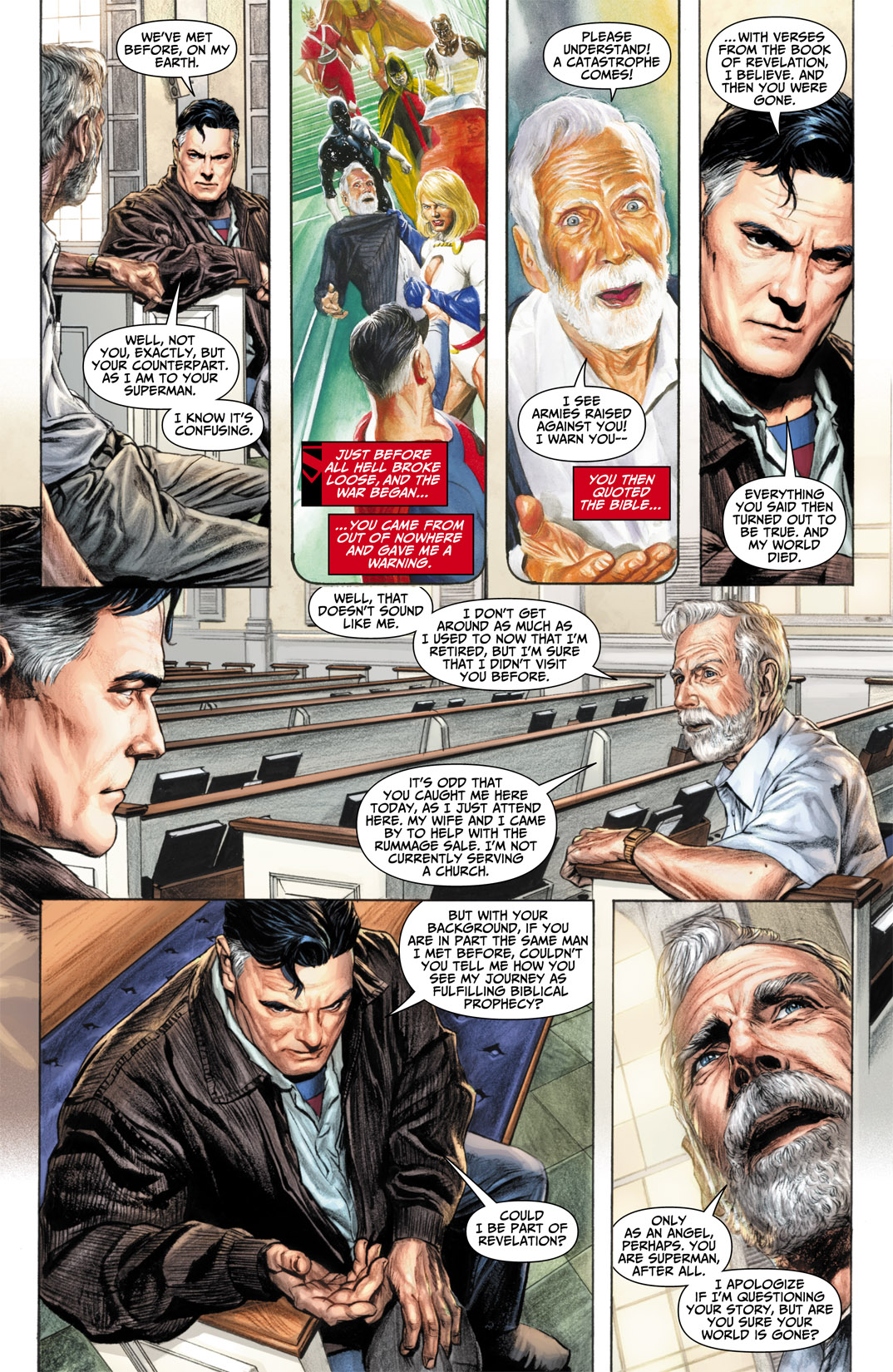 Read online JSA Kingdom Come Special: Superman comic -  Issue # Full - 16