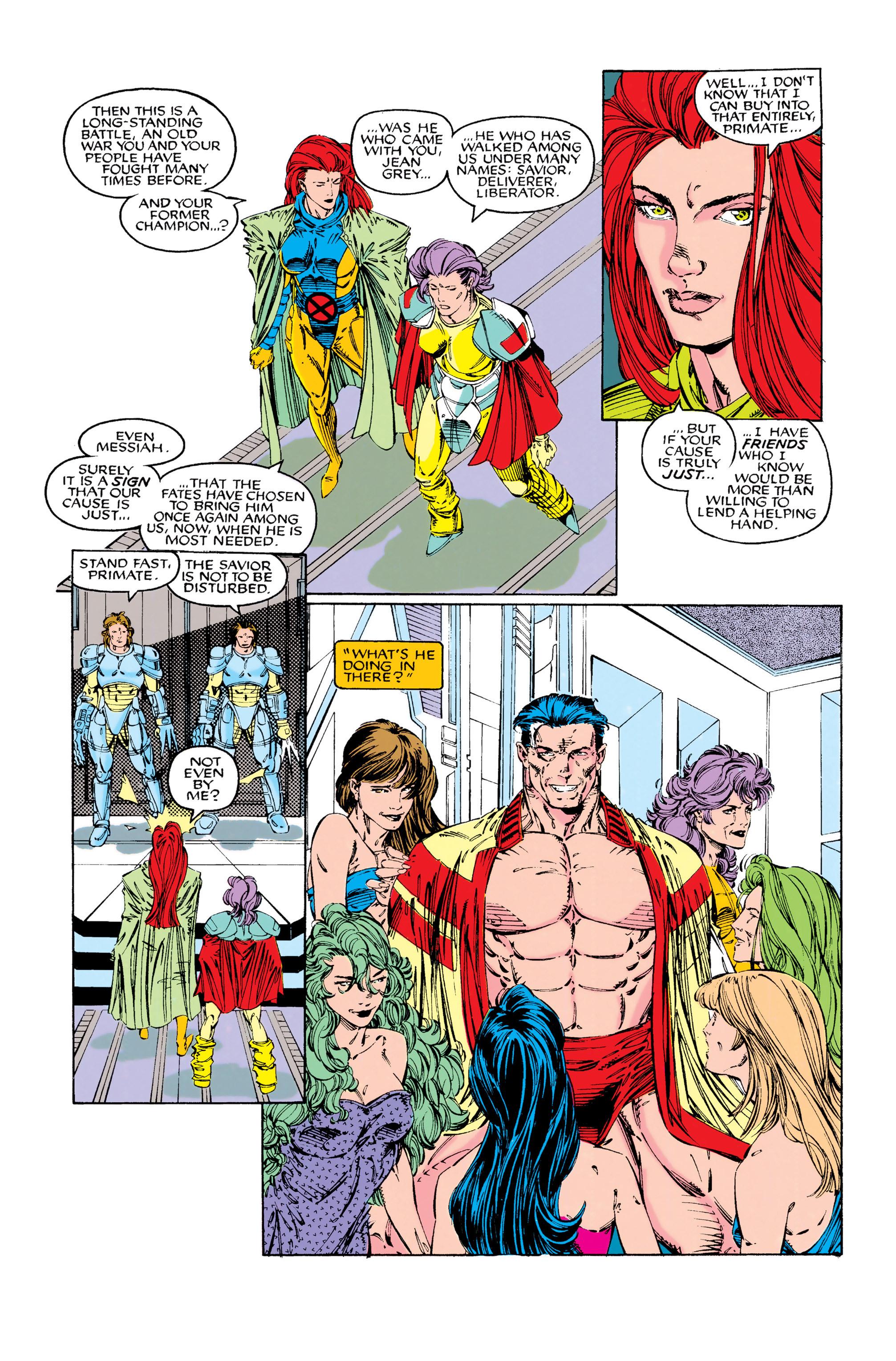 Read online Uncanny X-Men (1963) comic -  Issue #285 - 19