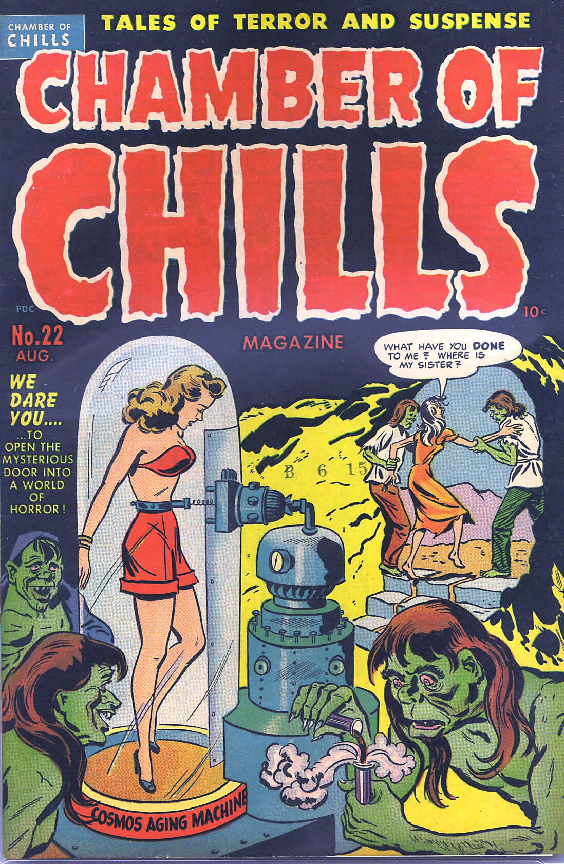 Chamber of Chills (1951) 2 Page 1