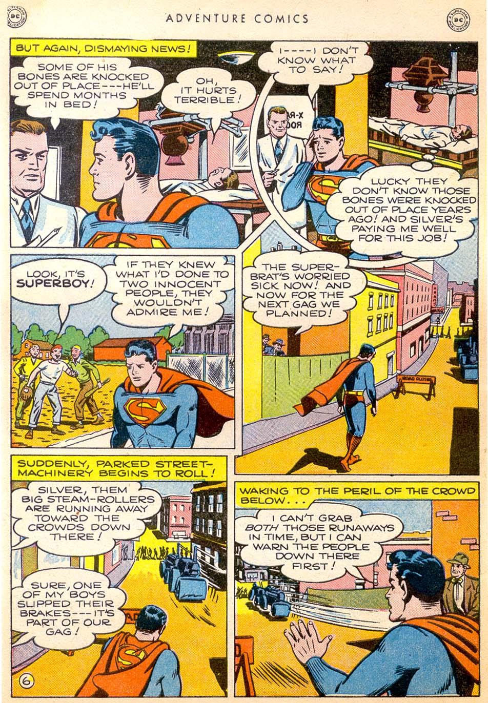 Read online Adventure Comics (1938) comic -  Issue #144 - 7