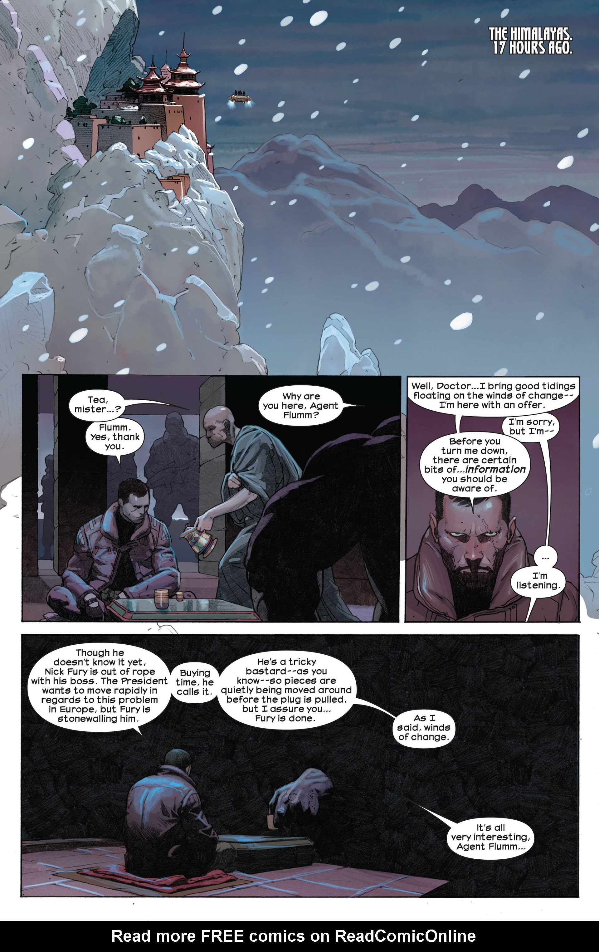 Read online Ultimate Comics Ultimates comic -  Issue #7 - 18