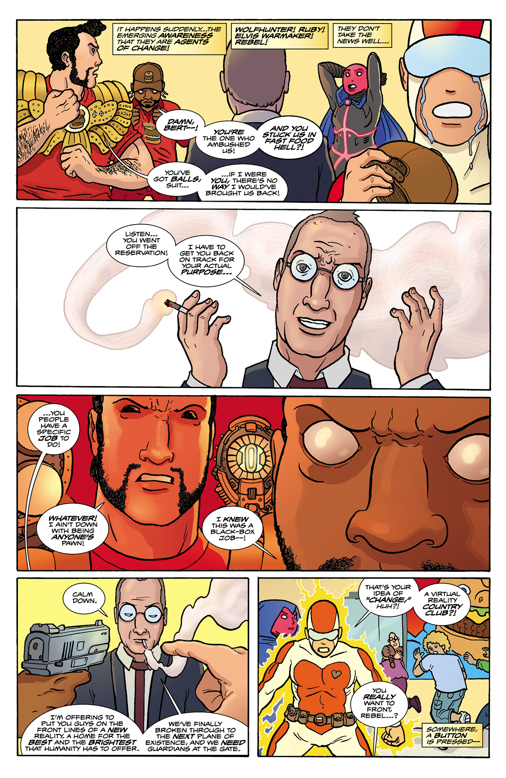 Read online Catalyst Comix comic -  Issue #8 - 9