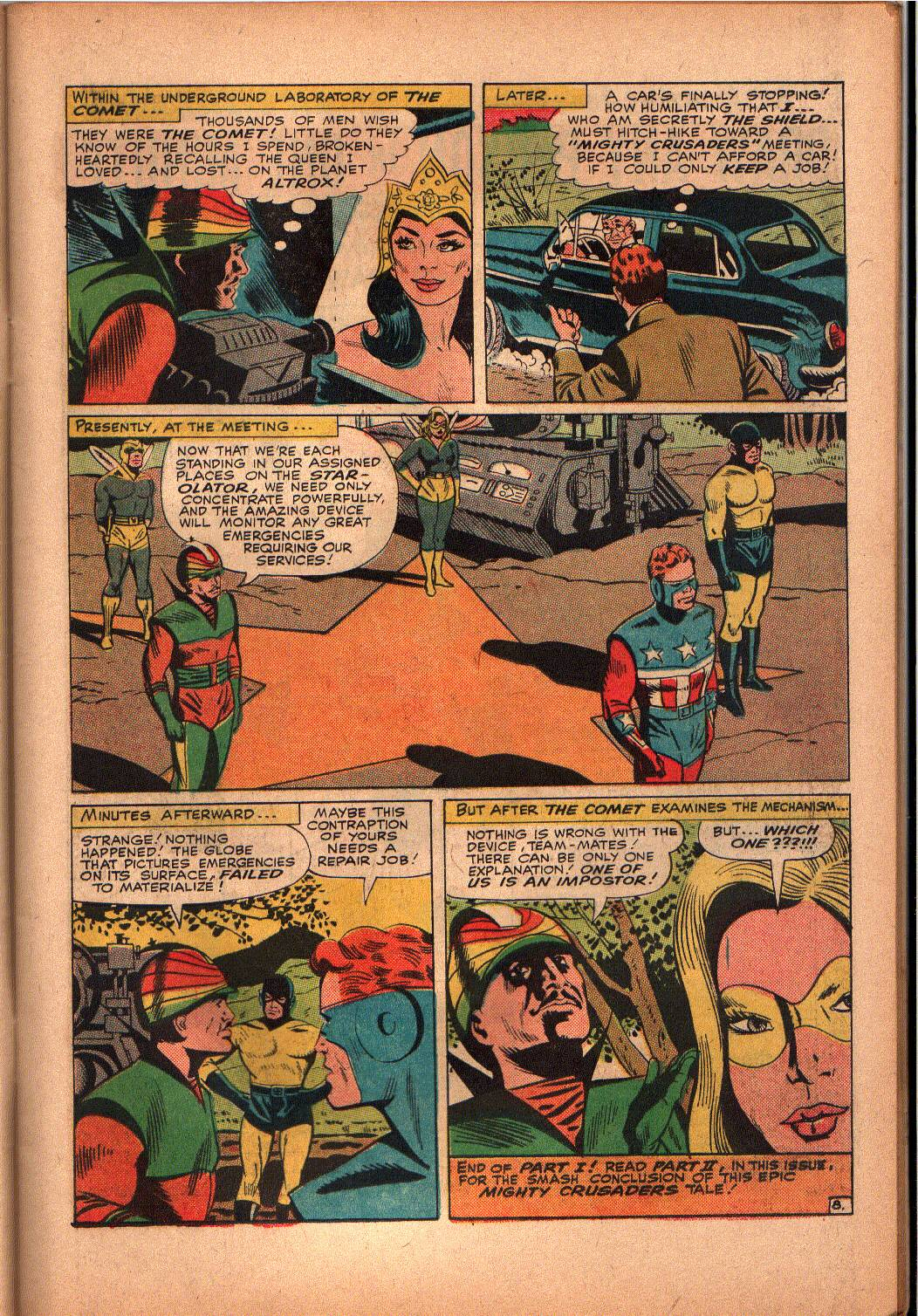 The Mighty Crusaders (1965) Issue #3 #3 - English 9