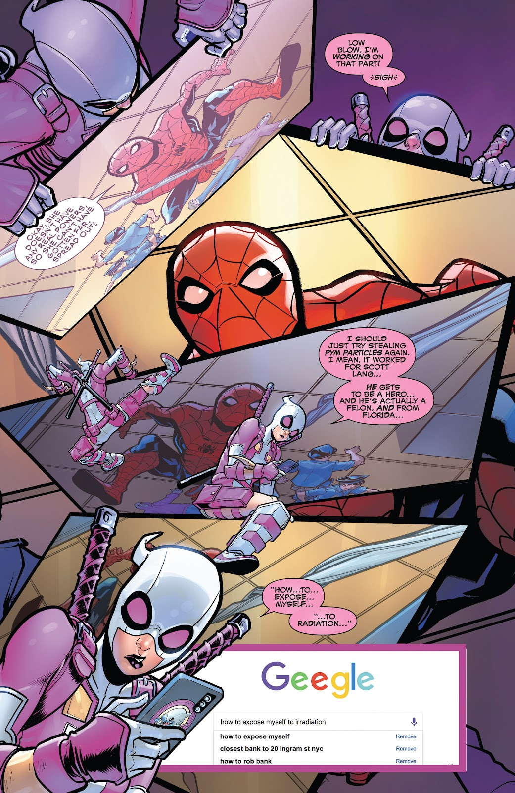 Gwenpool Strikes Back issue 1 - Page 18