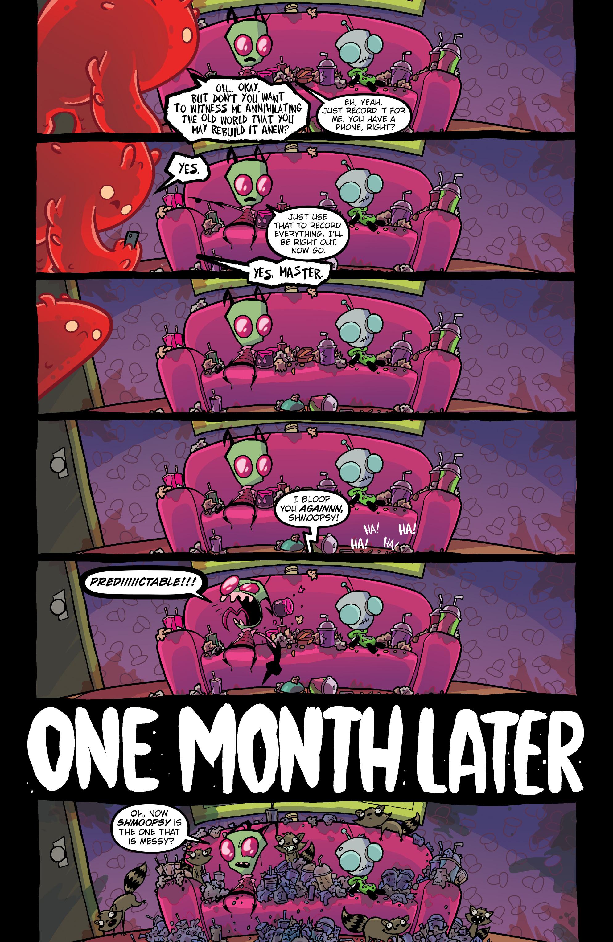 Read online Invader Zim comic -  Issue #20 - 12