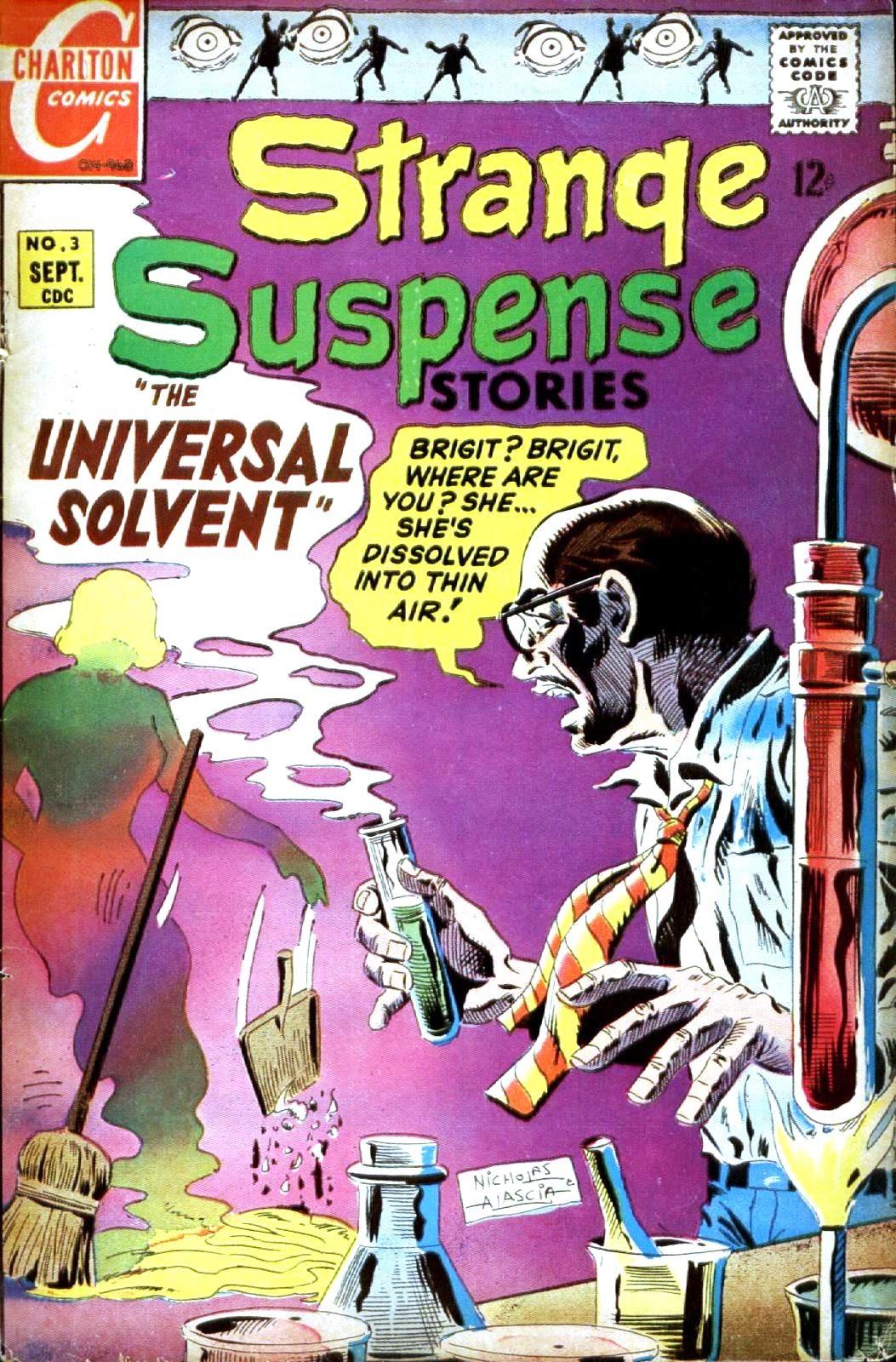 Strange Suspense Stories 3 Page 1